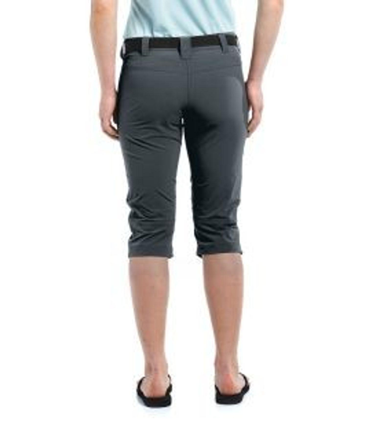 Maier Sports- Damen Funktions und  Outdoor Hose in Graphit oder Black Artikel Inara (232009) – Bild 4