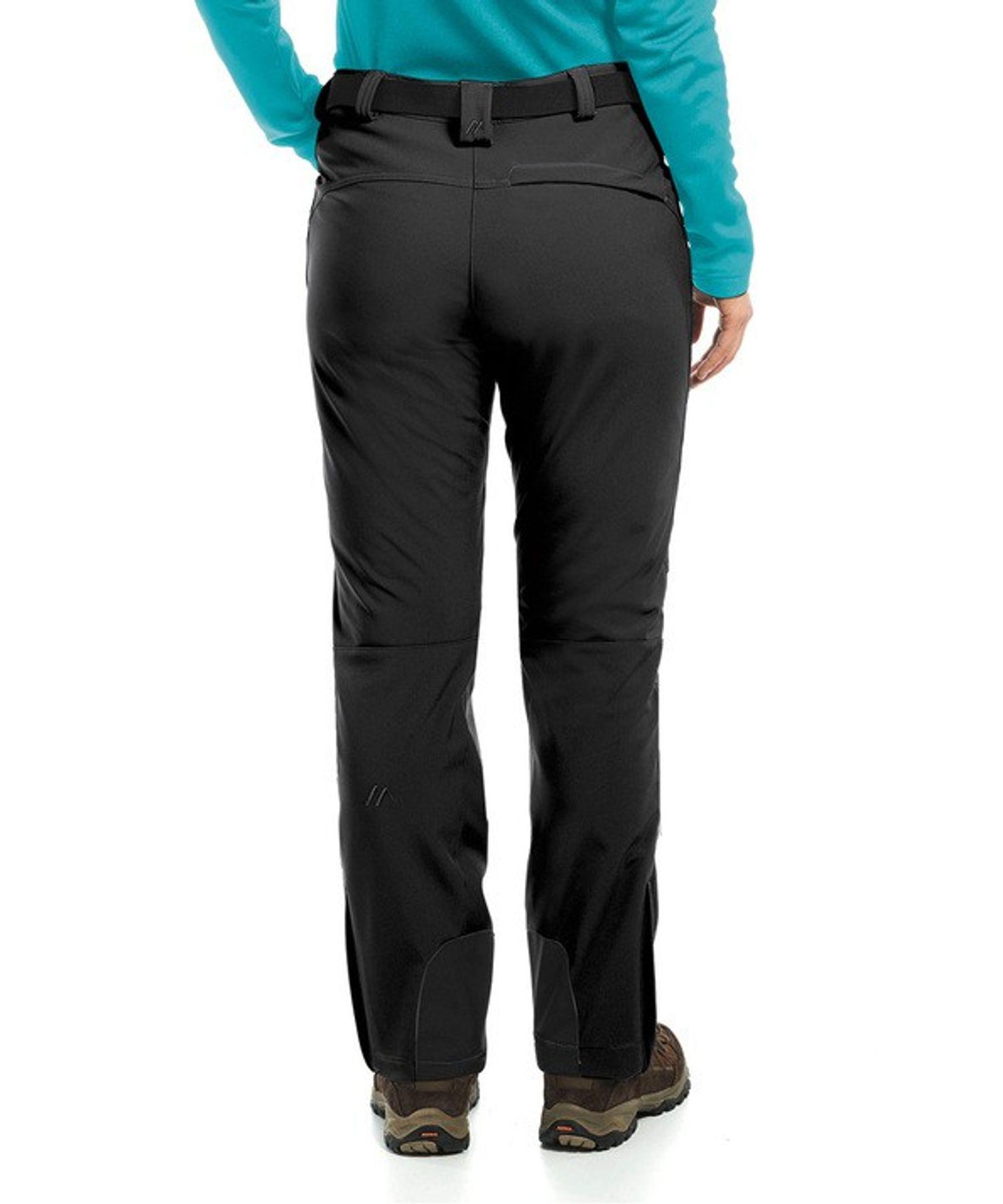 Maier Sports- Damen Funktionelle Softshell Touren - und Wanderhose in Black Artikel Tech Pants W (236008) – Bild 2