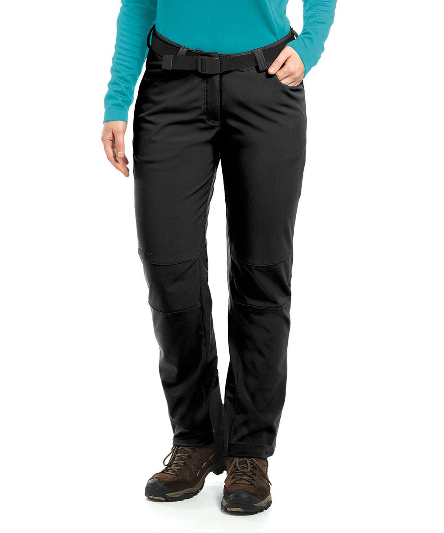 Maier Sports- Damen Funktionelle Softshell Touren - und Wanderhose in Black Artikel Tech Pants W (236008) – Bild 1