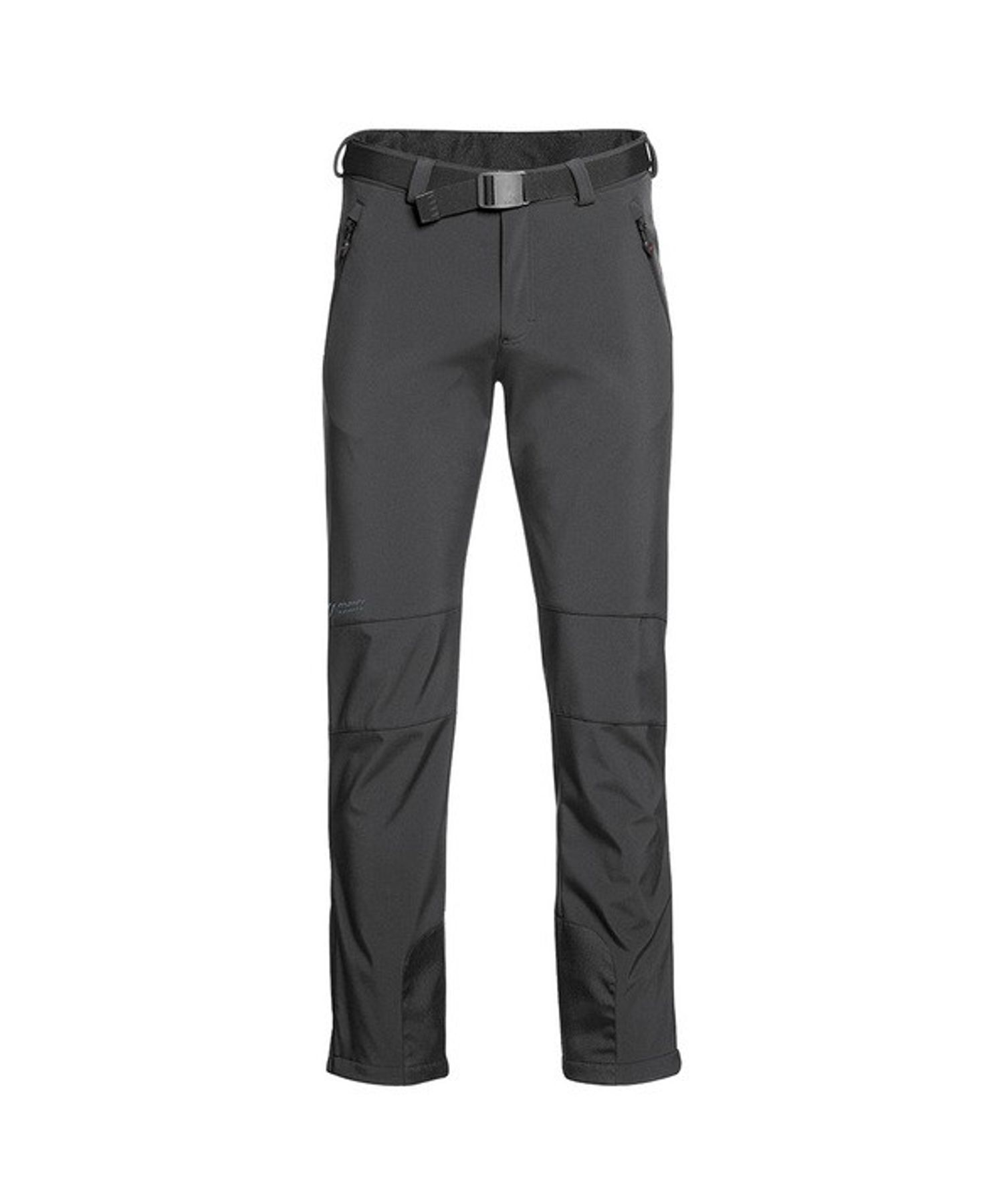 Maier Sports- Herren Funktionelle Softshell Touren - und Wanderhose in Black Artikel Tech Pants M (136008) – Bild 1