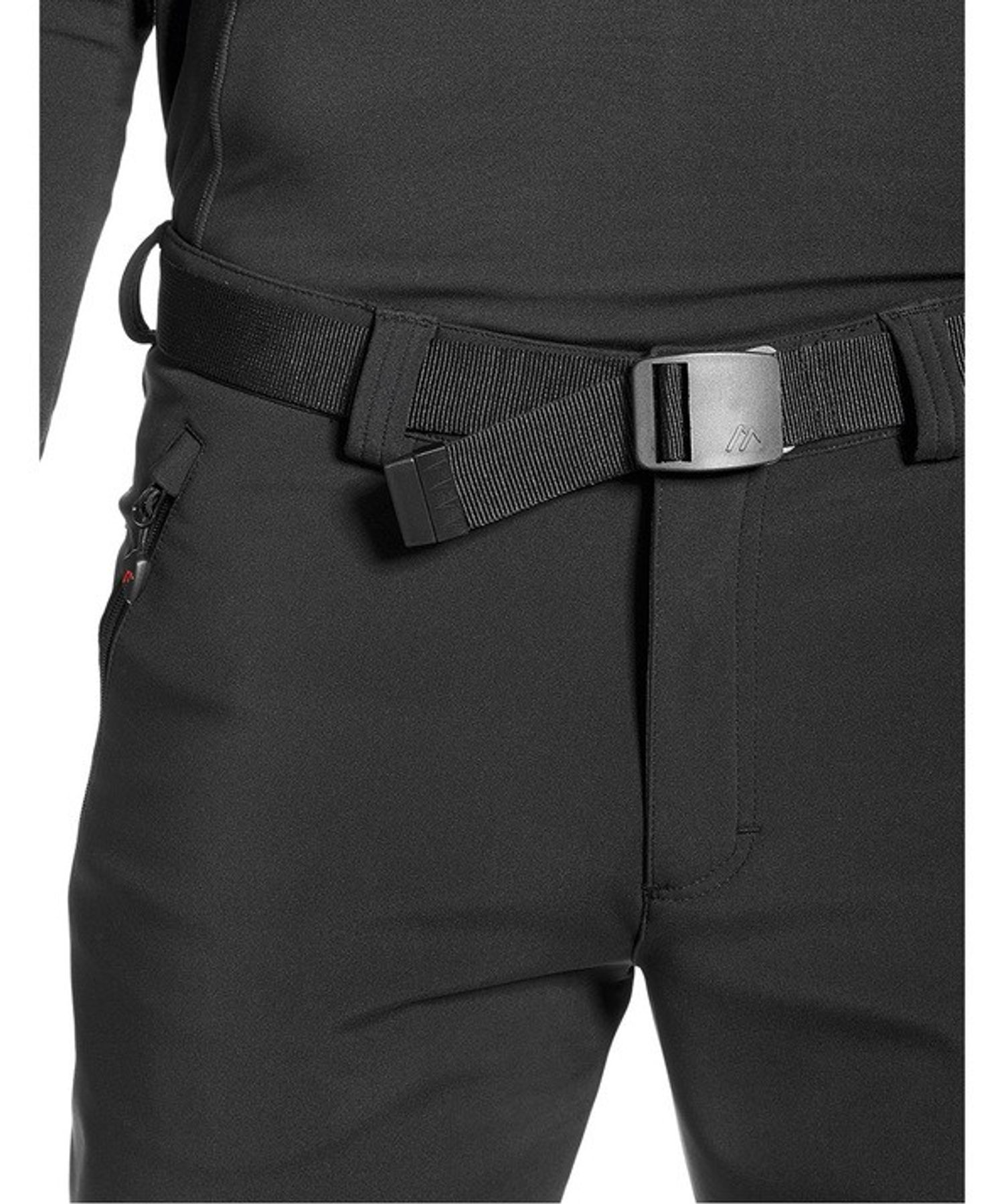 Maier Sports- Herren Funktionelle Softshell Touren - und Wanderhose in Black Artikel Tech Pants M (136008) – Bild 5