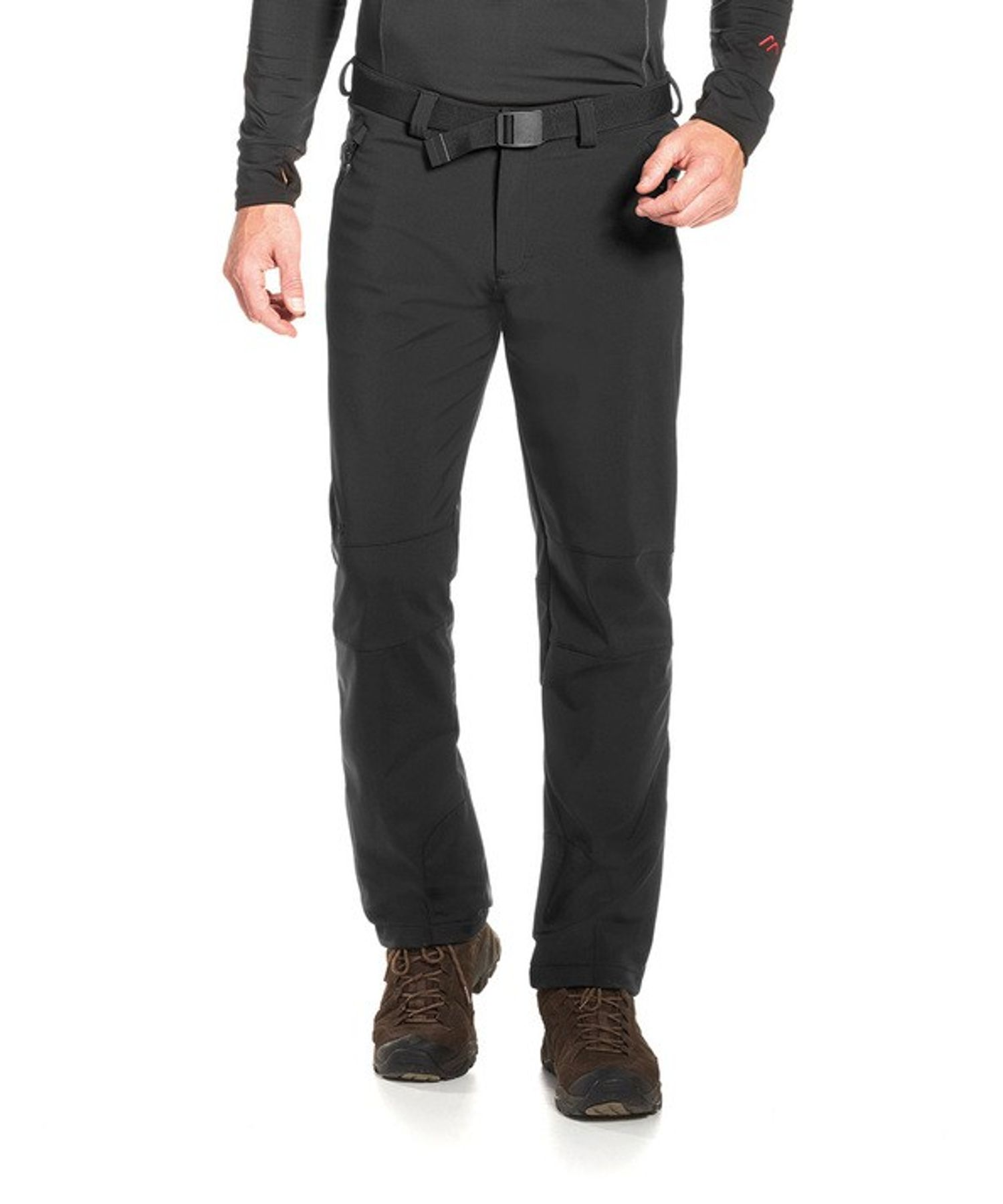 Maier Sports- Herren Funktionelle Softshell Touren - und Wanderhose in Black Artikel Tech Pants M (136008) – Bild 7