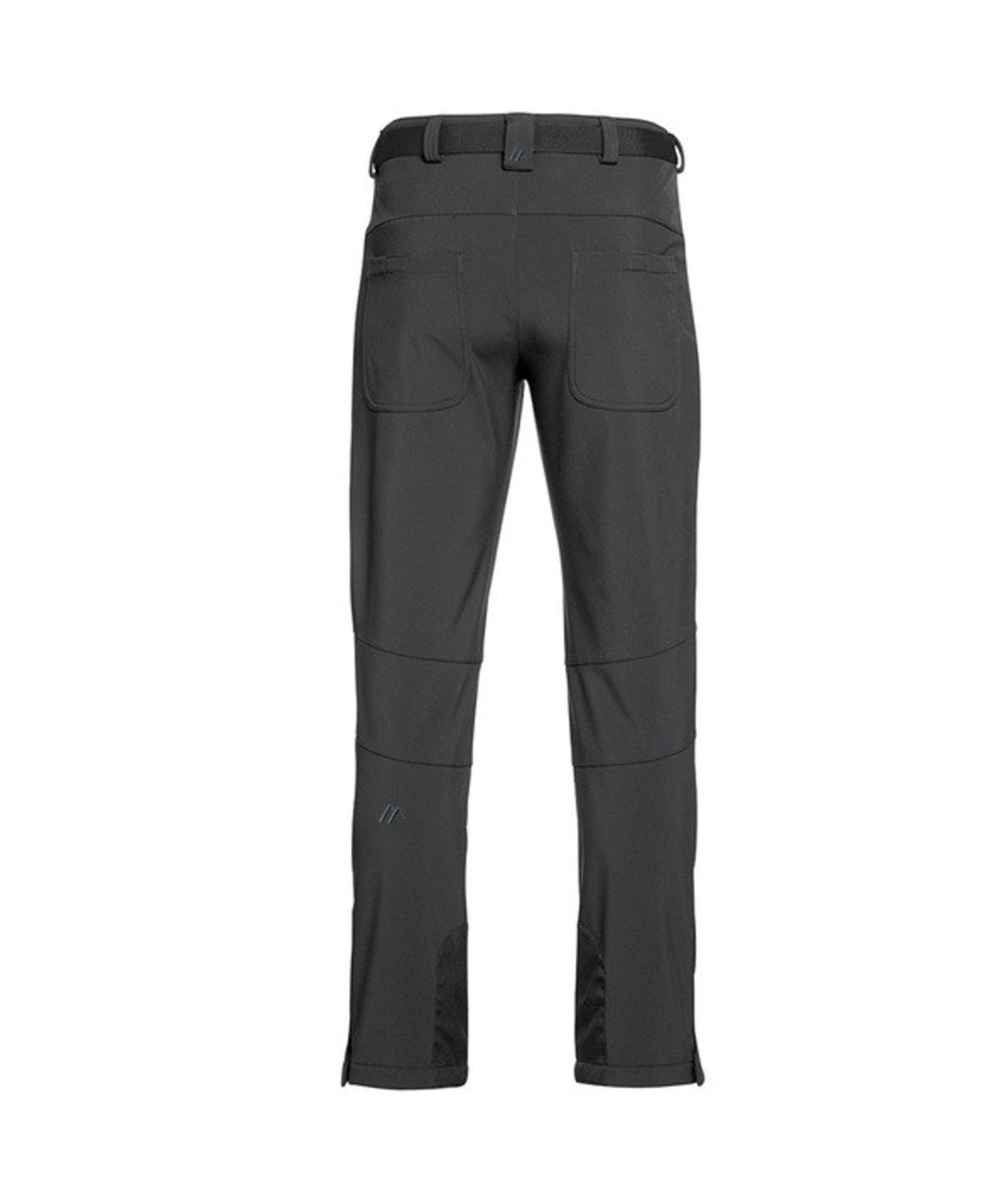 Maier Sports- Herren Funktionelle Softshell Touren - und Wanderhose in Black Artikel Tech Pants M (136008) – Bild 2