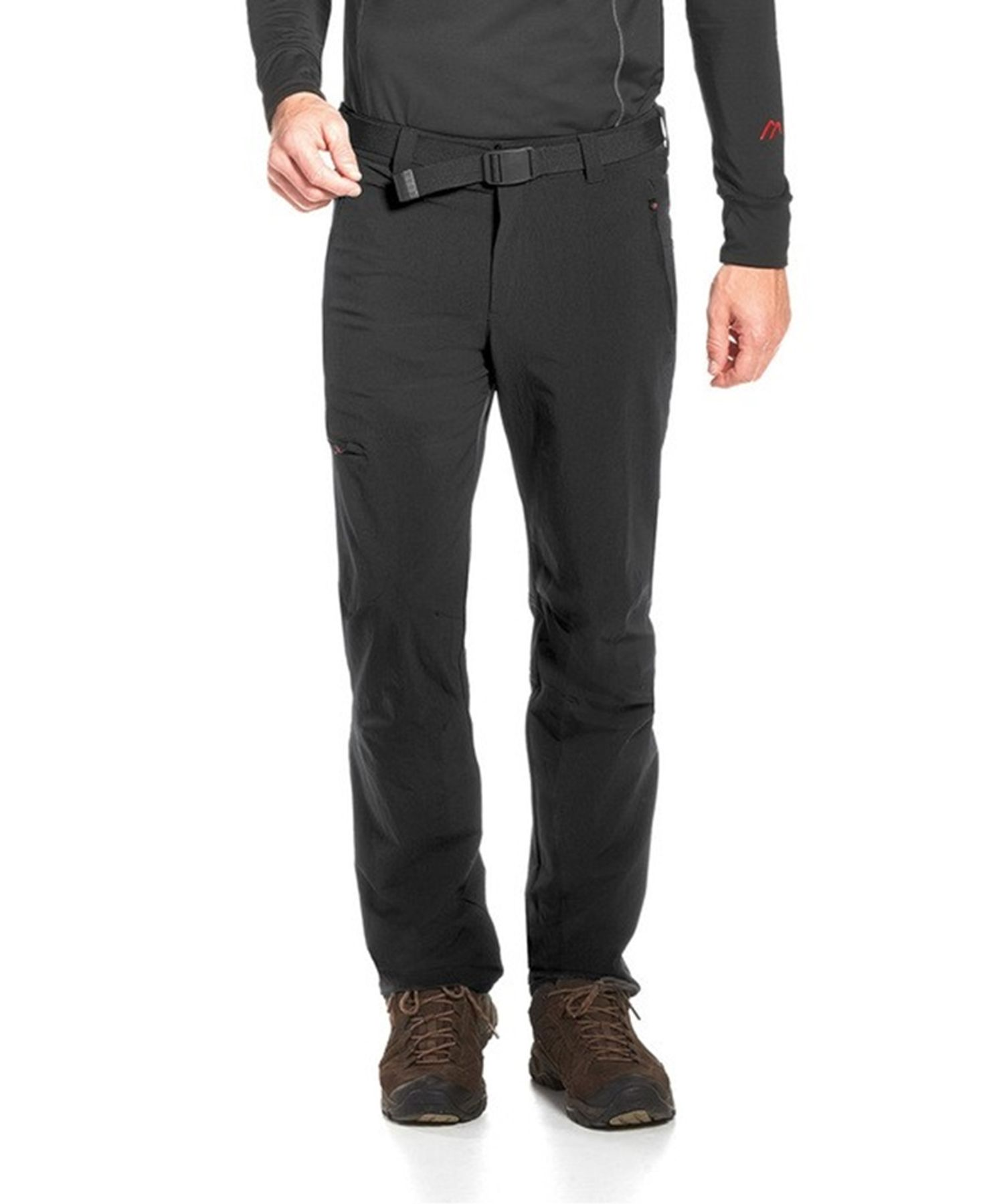 Maier Sports- Herren Outdoor - und Funktions Hose in Black Artikel Oberjoch (137003) – Bild 1