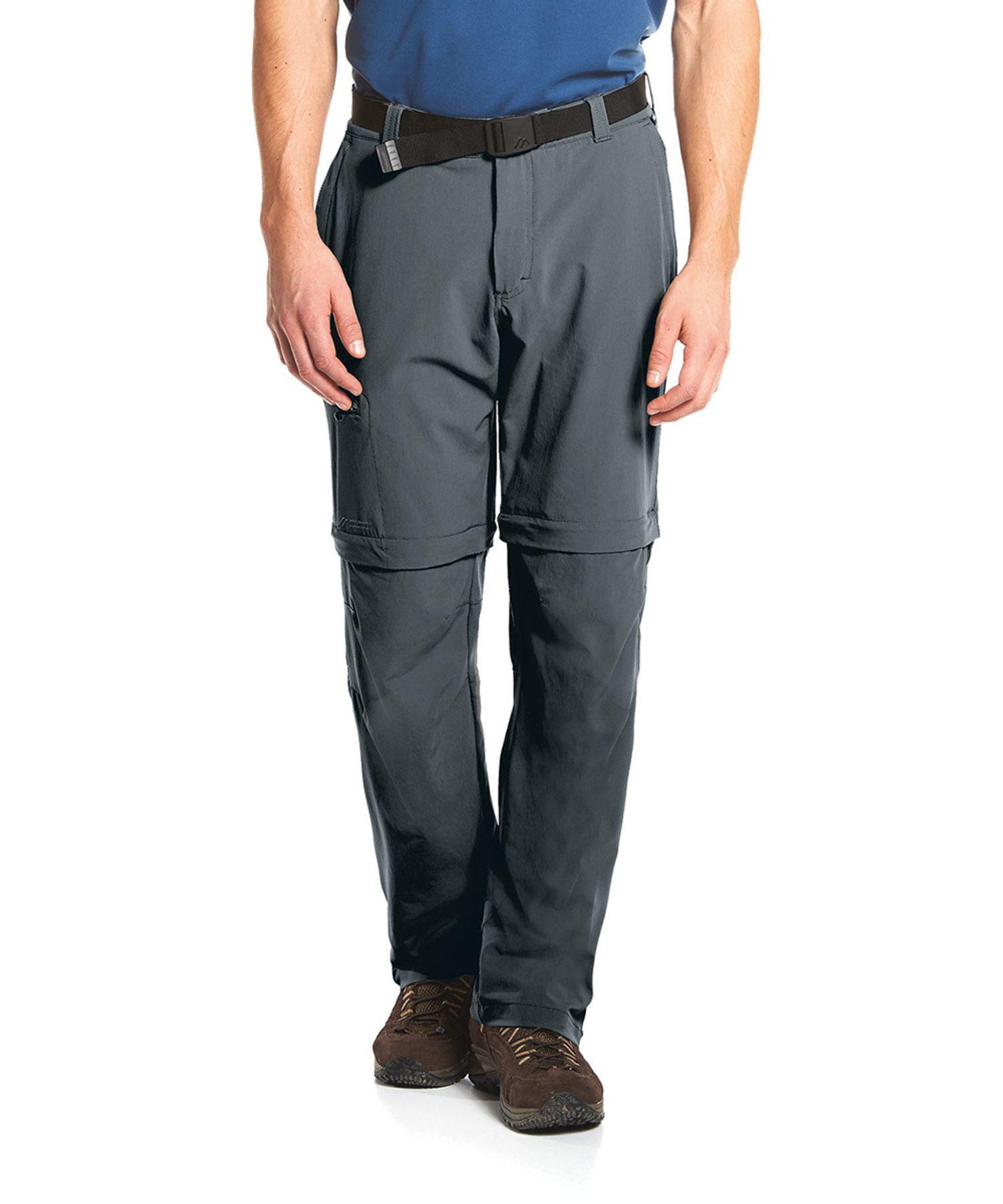 Maier Sports- Herren Outdoor-Trekking und Funktions Hose mit Zipp-off in Black, Teak oder Graphit Artikel Tajo (133003) – Bild 4