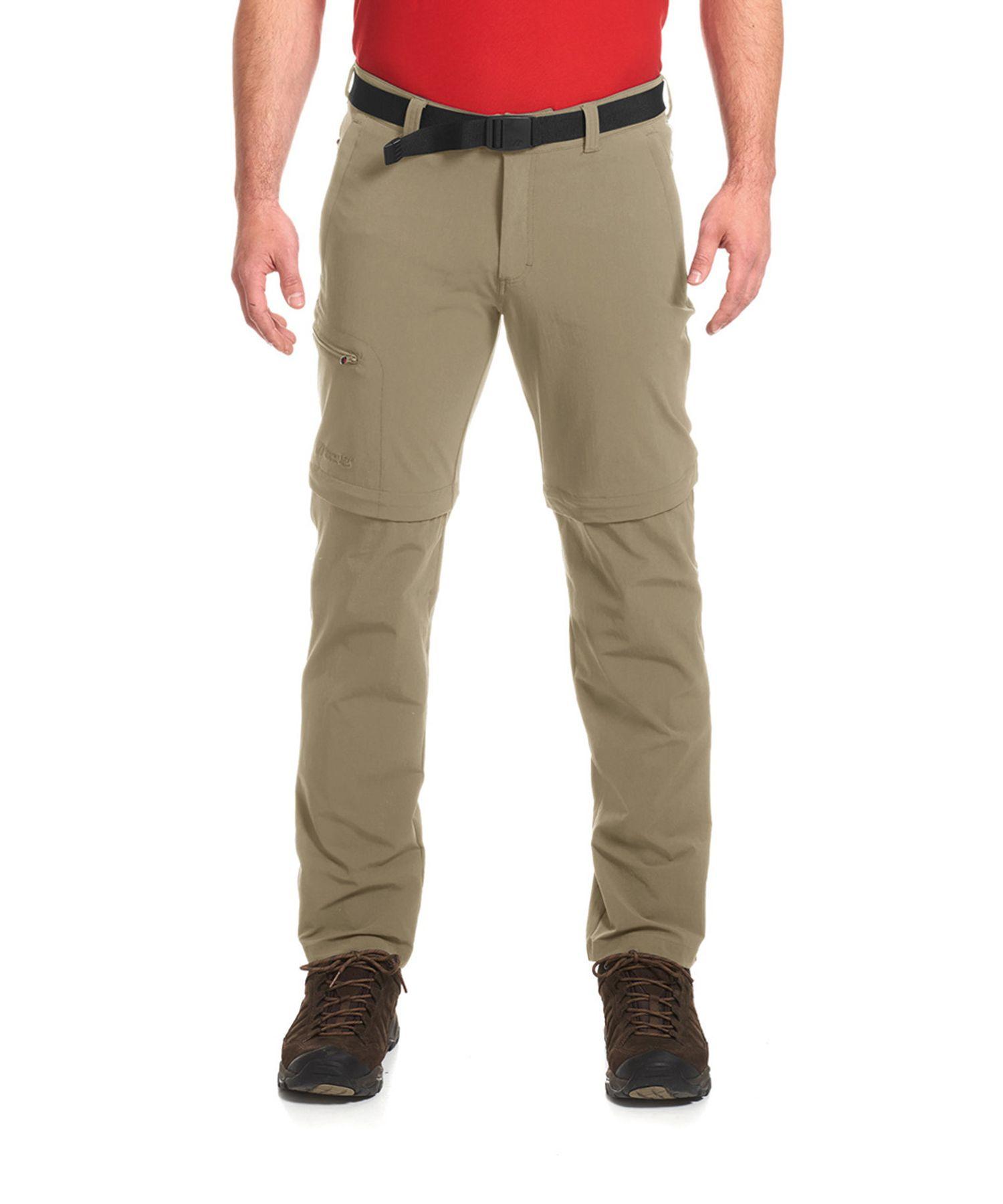 Maier Sports- Herren Outdoor-Trekking und Funktions Hose mit Zipp-off in Black oder Graphit Artikel Tajo 2 (133004) – Bild 3