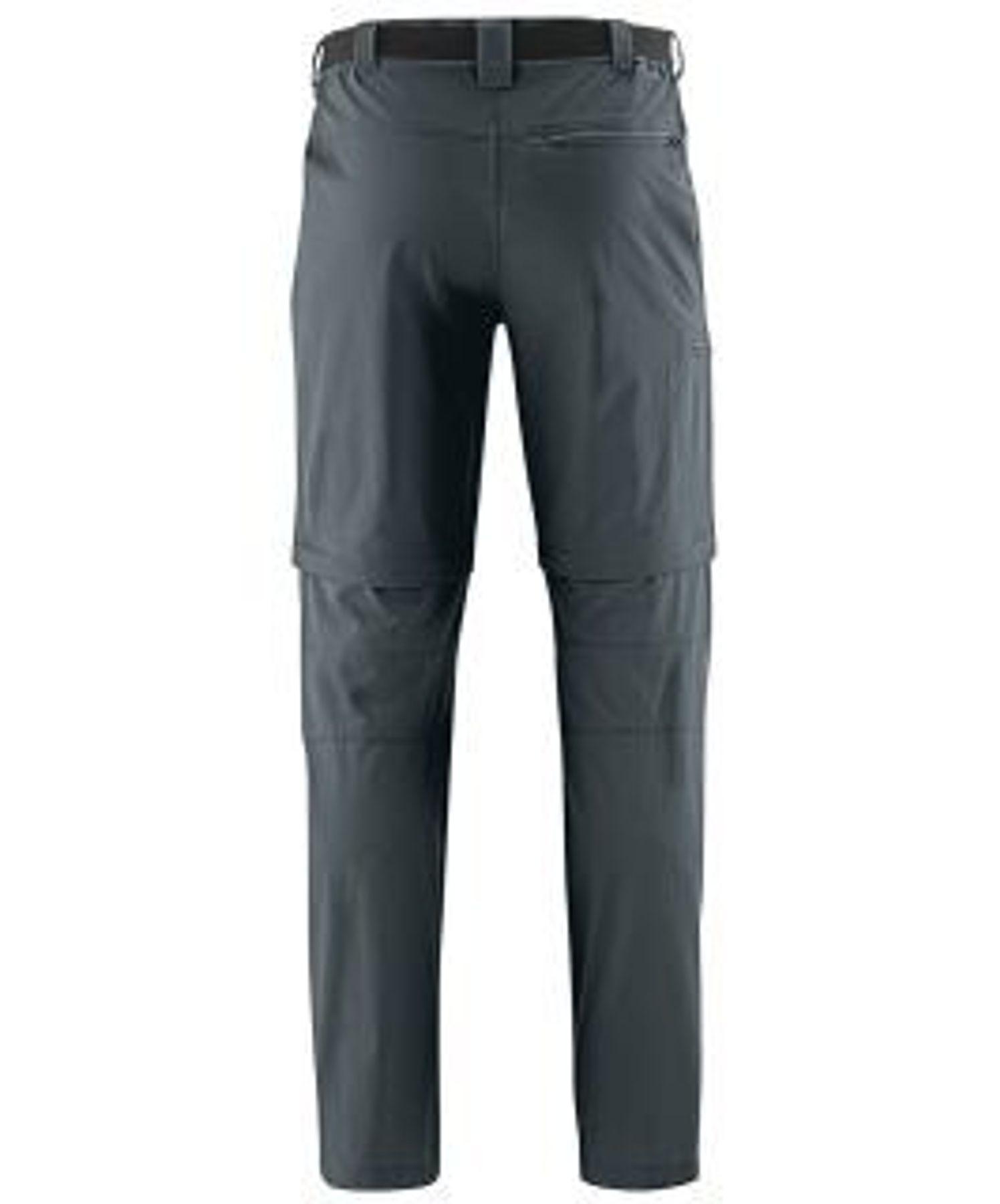 Maier Sports- Herren Outdoor-Trekking und Funktions Hose mit Zipp-off in Black oder Graphit Artikel Tajo 2 (133004) – Bild 7