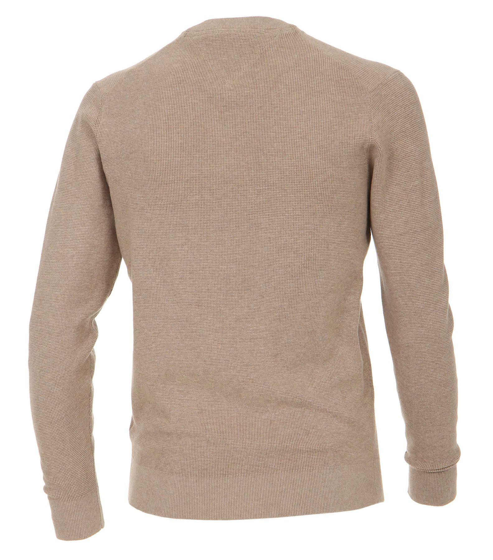 Casa Moda - Unifarbener Herren Pullover mit V-Ausschnitt  (472625000) – Bild 11