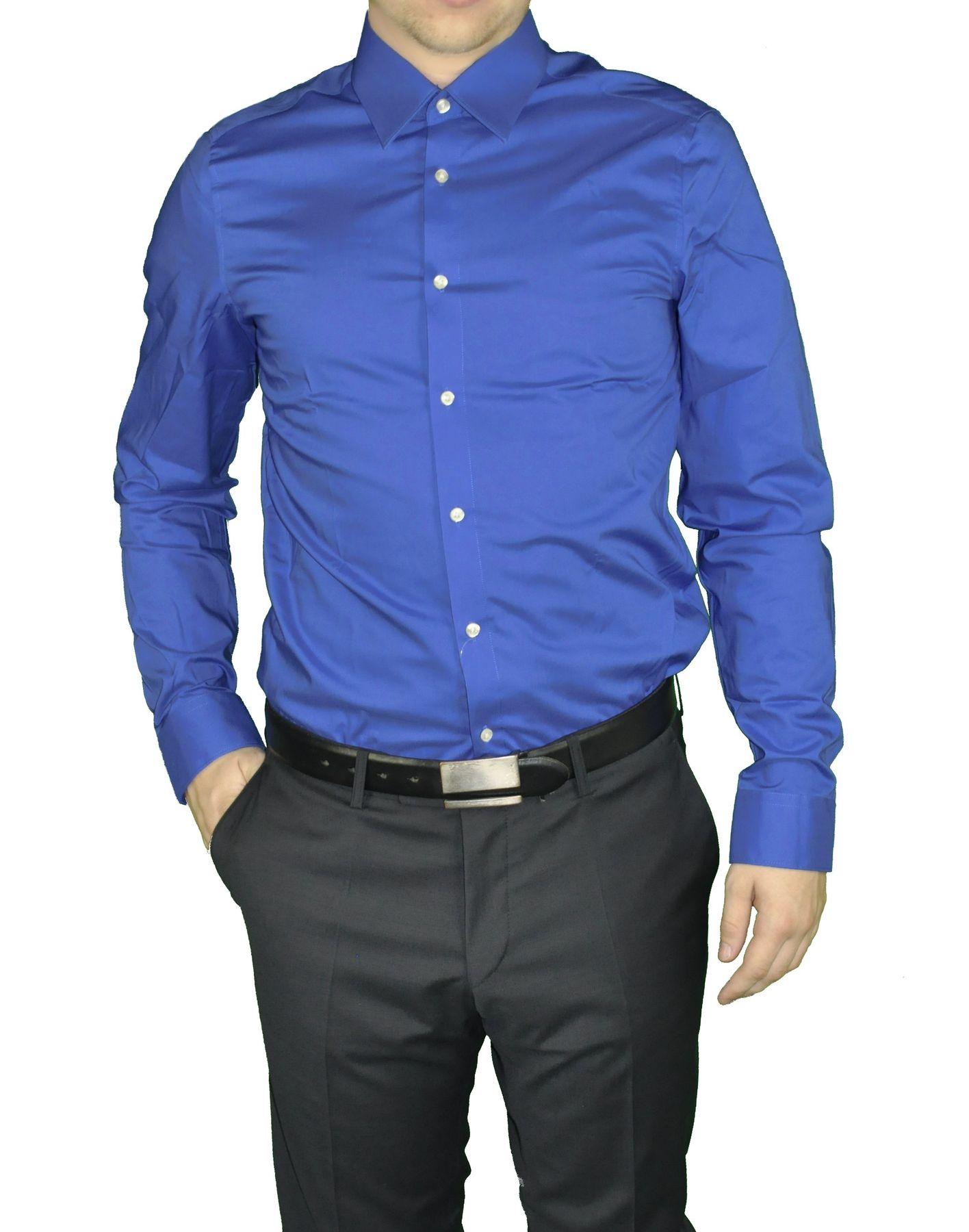 Redmond - Herren Slim Fit Hemd in verschiedenen Farben (400130/17A) – Bild 3