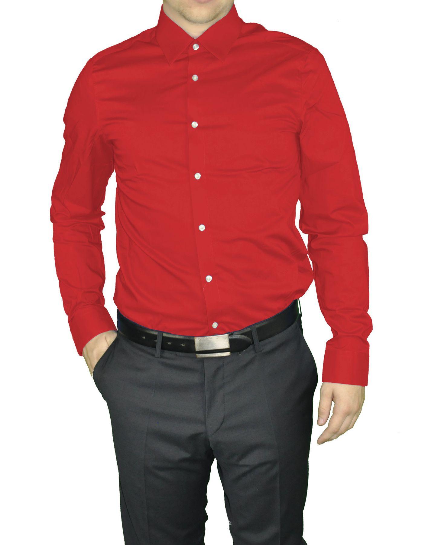 Redmond - Herren Slim Fit Hemd in verschiedenen Farben (400130/17A) – Bild 14