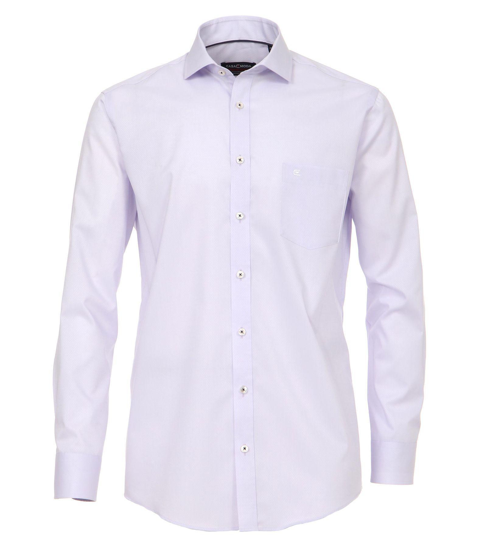 Casa Moda - Modern Fit - Herren langarm Hemd mit Shark Kragen, Uninah (372682600A) – Bild 17