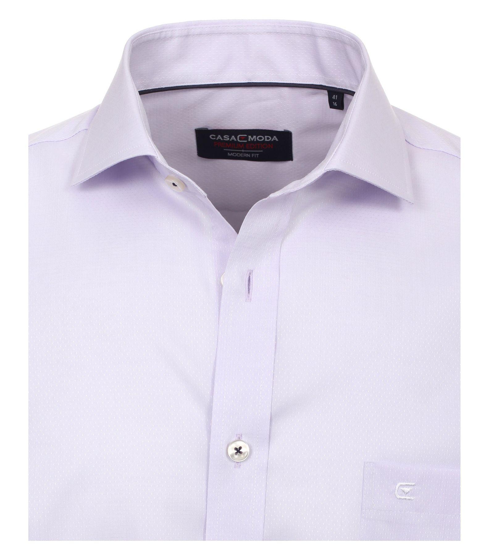 Casa Moda - Modern Fit - Herren langarm Hemd mit Shark Kragen, Uninah (372682600A) – Bild 19