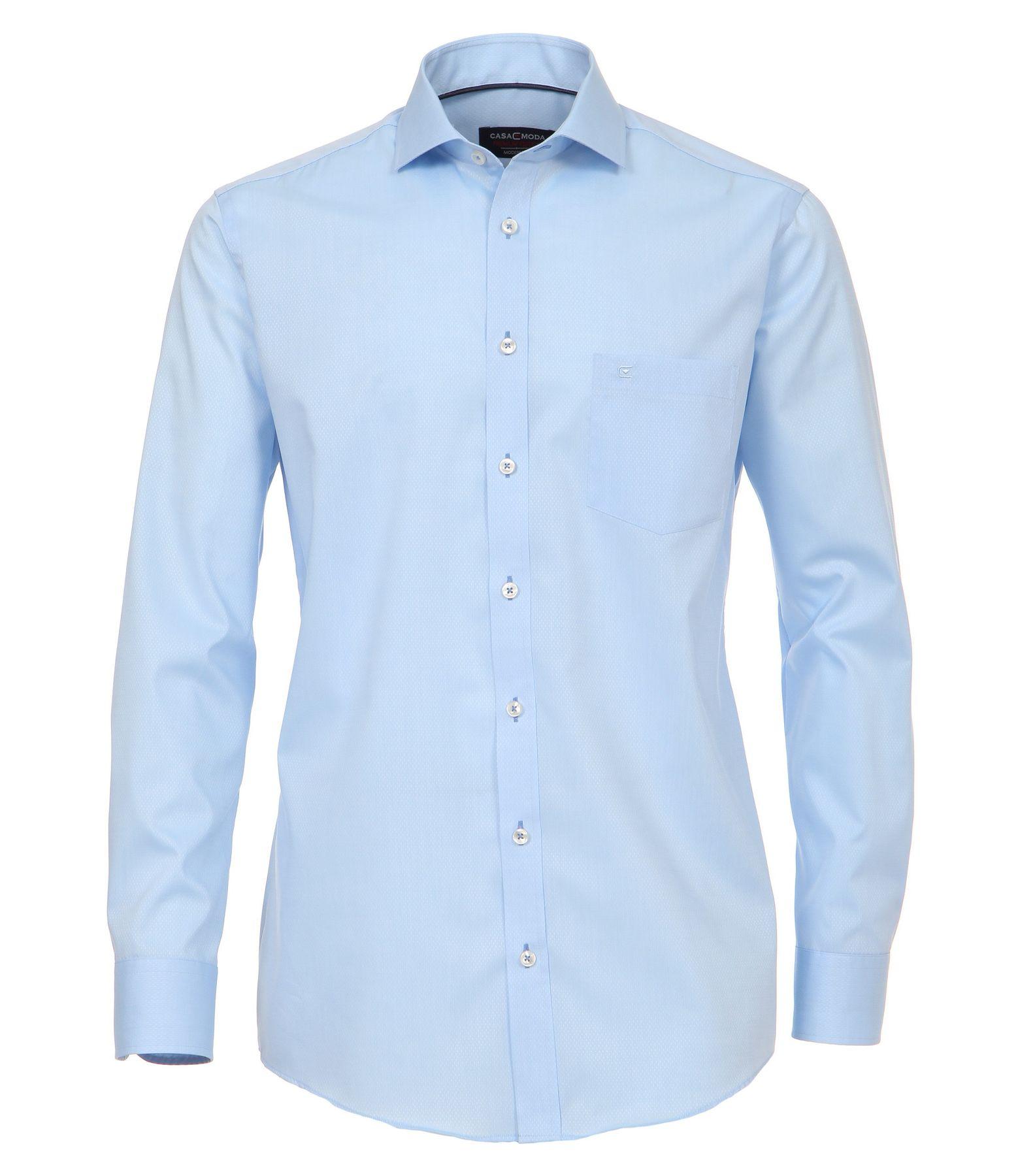 Casa Moda - Modern Fit - Herren langarm Hemd mit Shark Kragen, Uninah (372682600A) – Bild 5