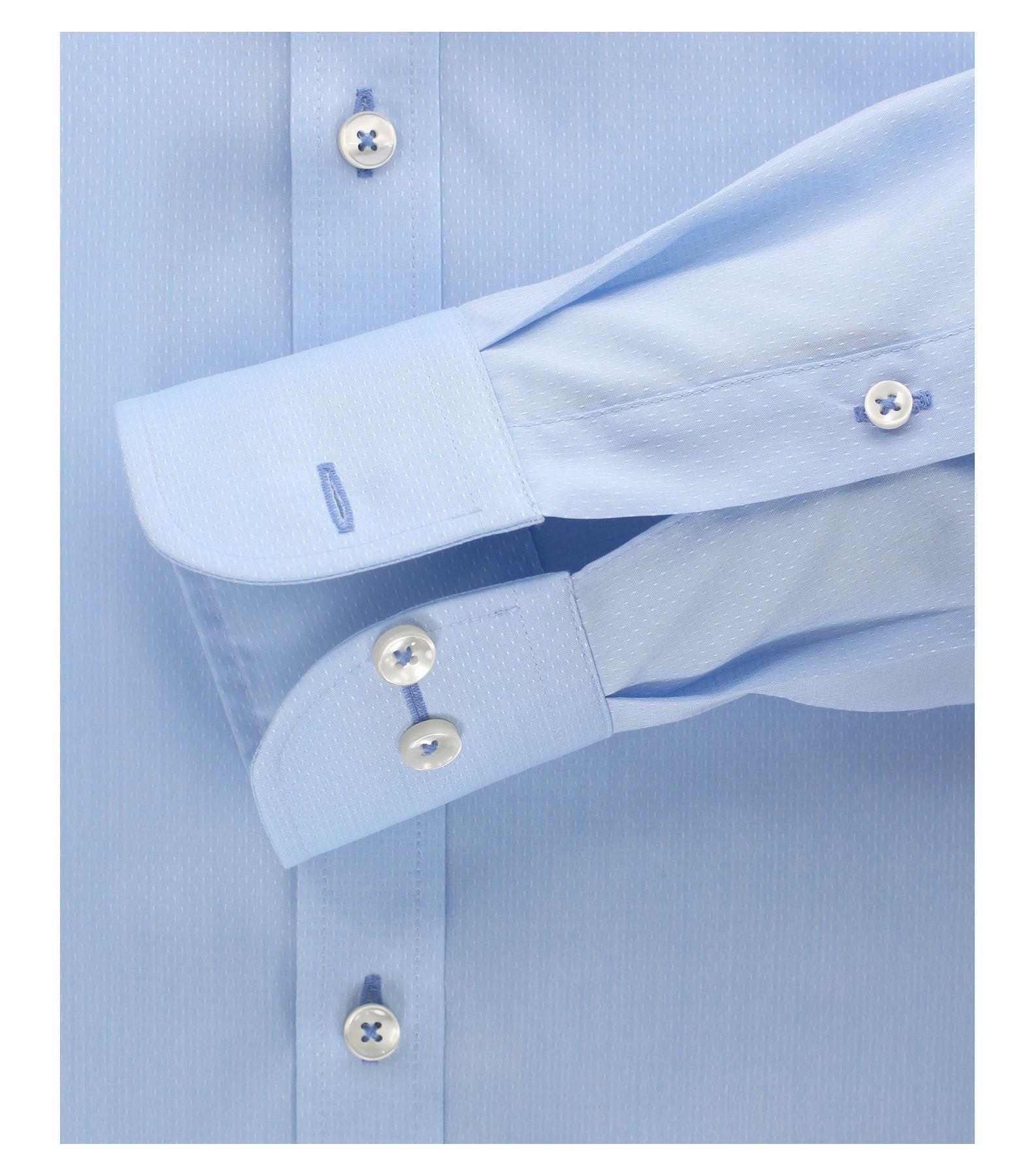 Casa Moda - Modern Fit - Herren langarm Hemd mit Shark Kragen, Uninah (372682600A) – Bild 8