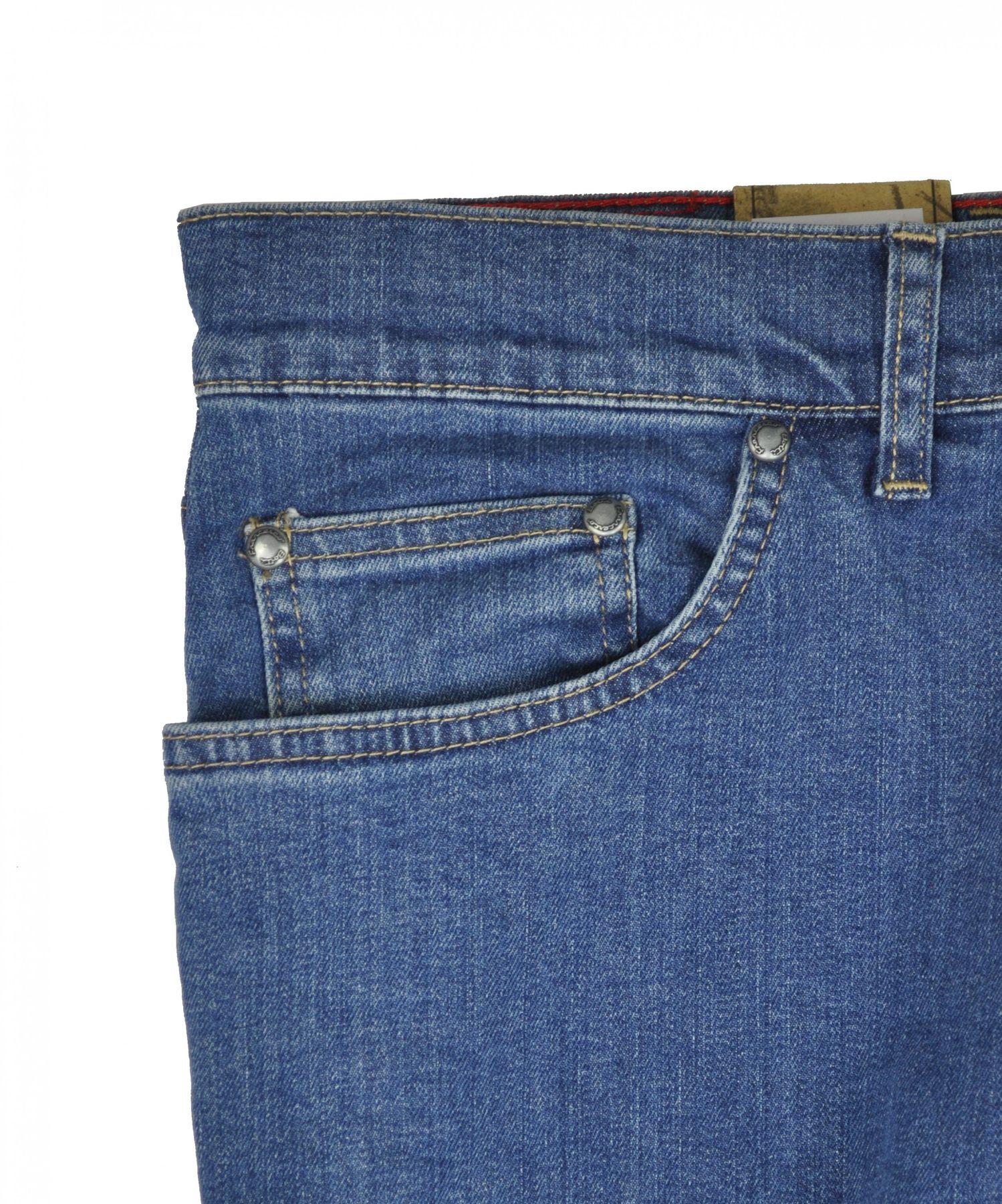 Herren 5 Pocket Jeans in Schwarz oder Blau (15204100) – Bild 7
