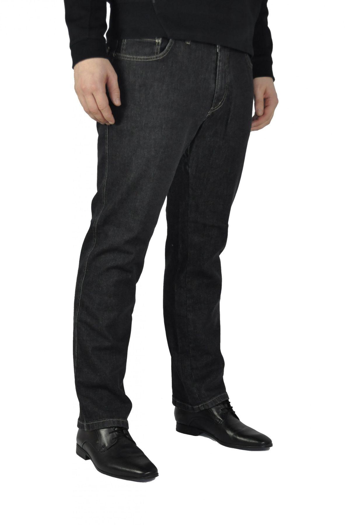 Herren 5 Pocket Jeans in Schwarz oder Blau (15204100) – Bild 4