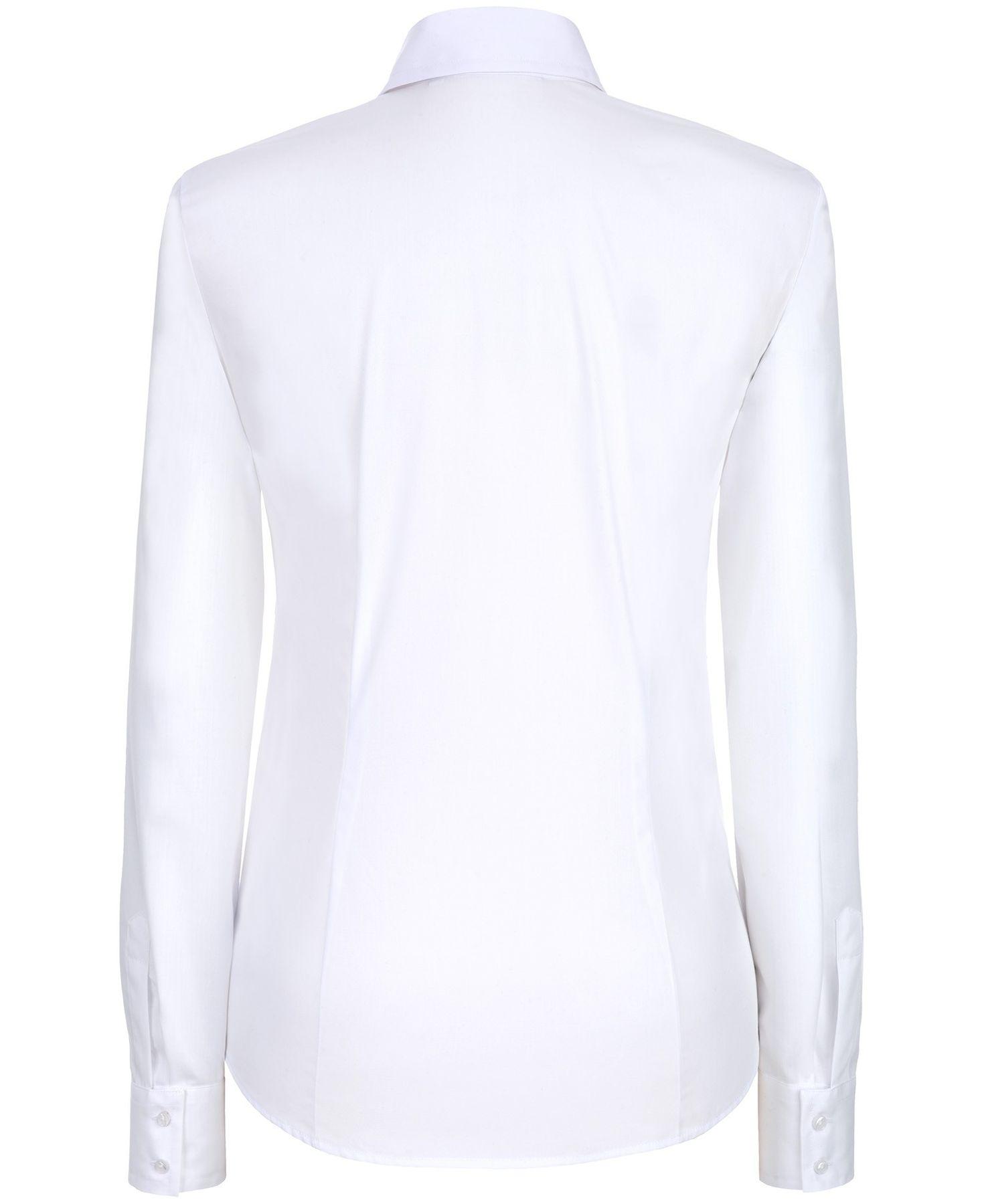 Eterna -  Comfort-Fit - Damen Langarm Bluse in Hellblau kariert  (5330 D661) – Bild 3