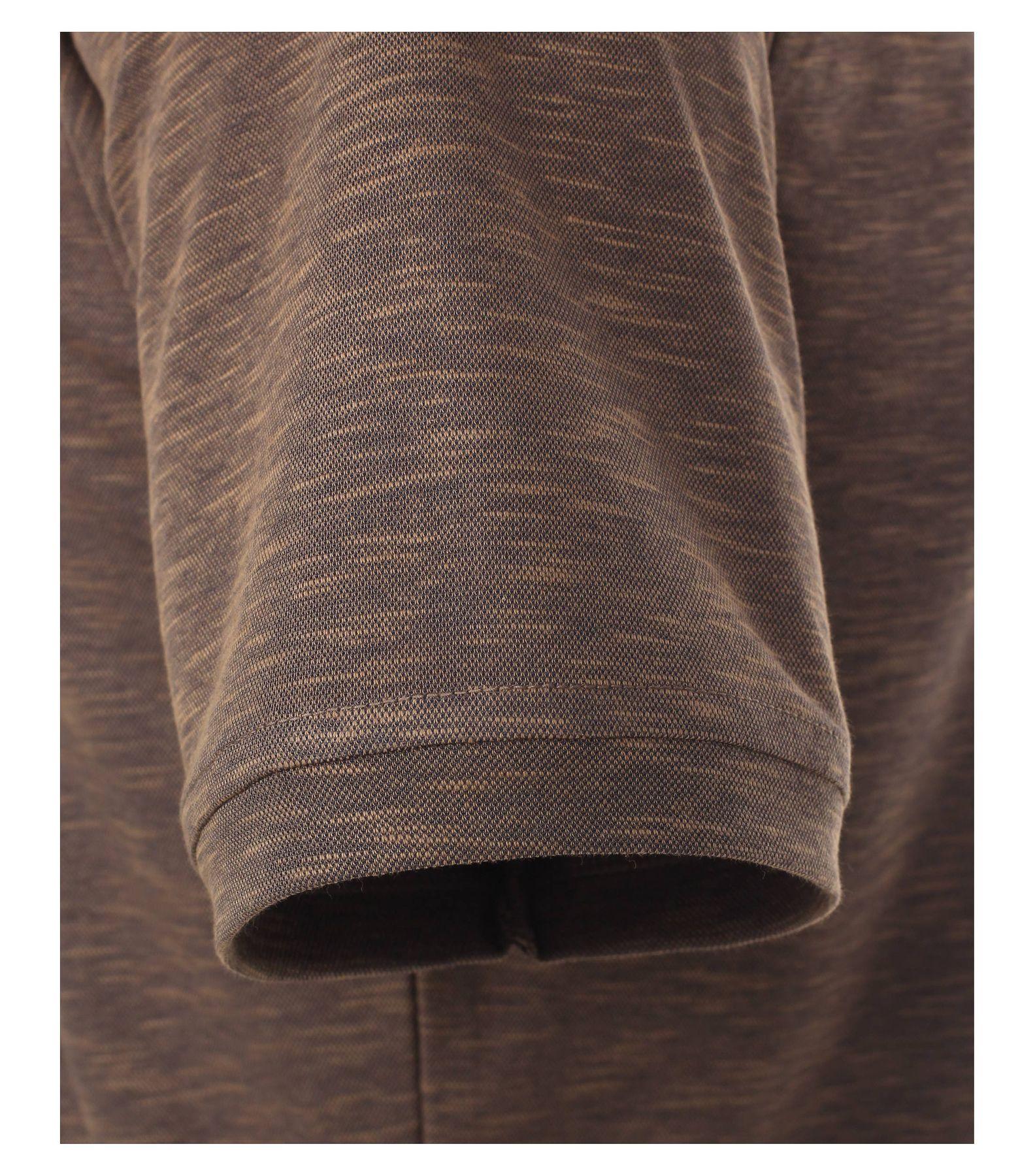 Casa Moda - Herren Polo Shirt in Melange Optik und Brusttasche in verschiedenen Farben (972630300) – Bild 14