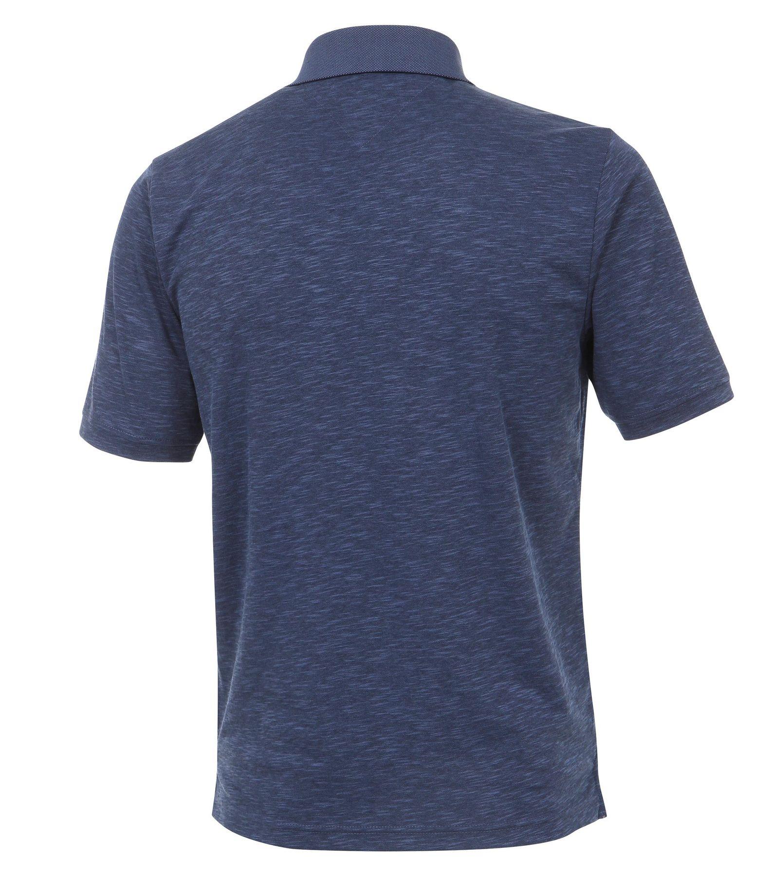 Casa Moda - Herren Polo Shirt in Melange Optik und Brusttasche in verschiedenen Farben (972630300) – Bild 2