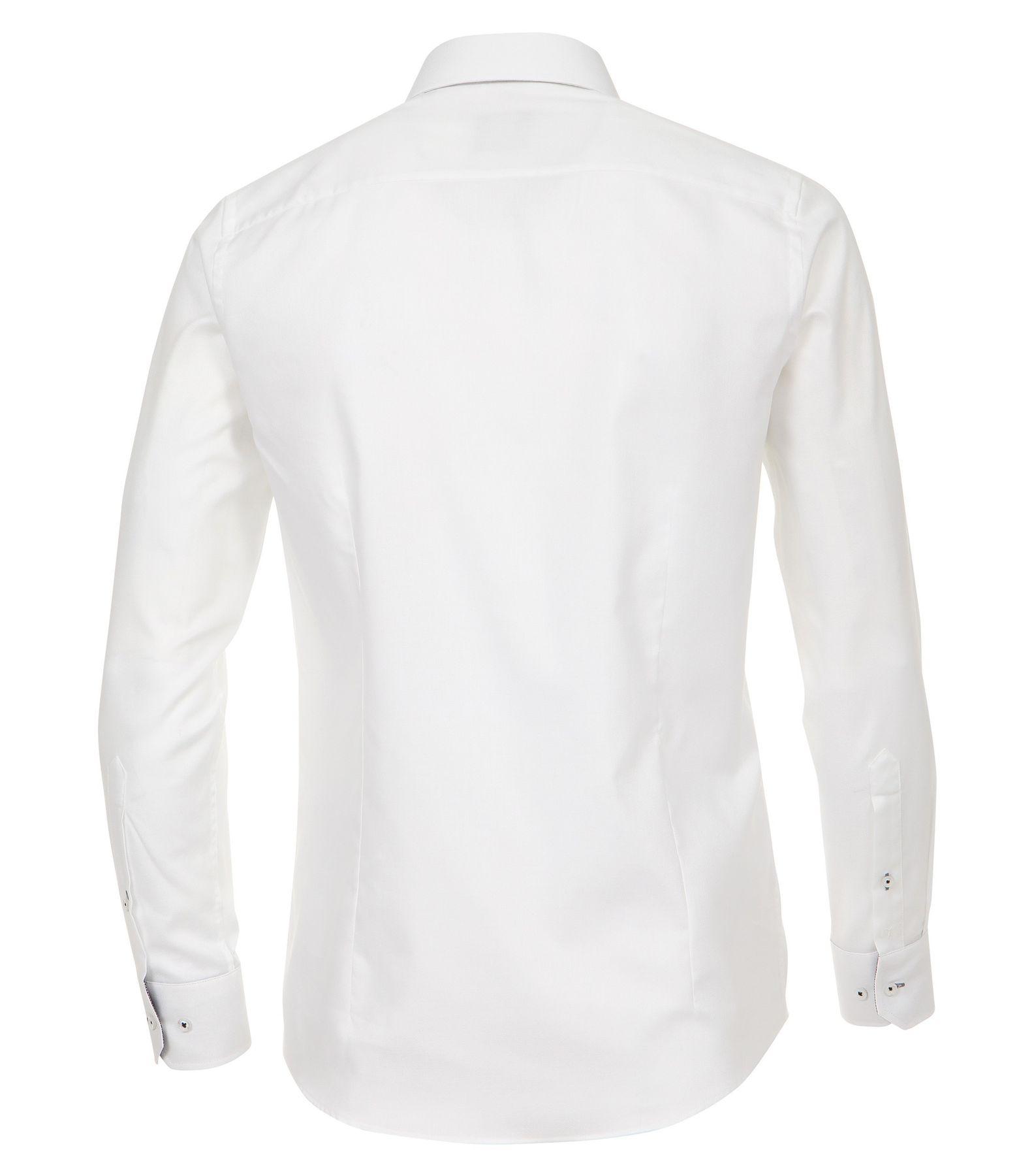 Venti - Slim Fit - Herren Langarm Hemd aus 100% Baumwolle mit Kent Kragen in verschiedenen Farben (172678600) – Bild 8