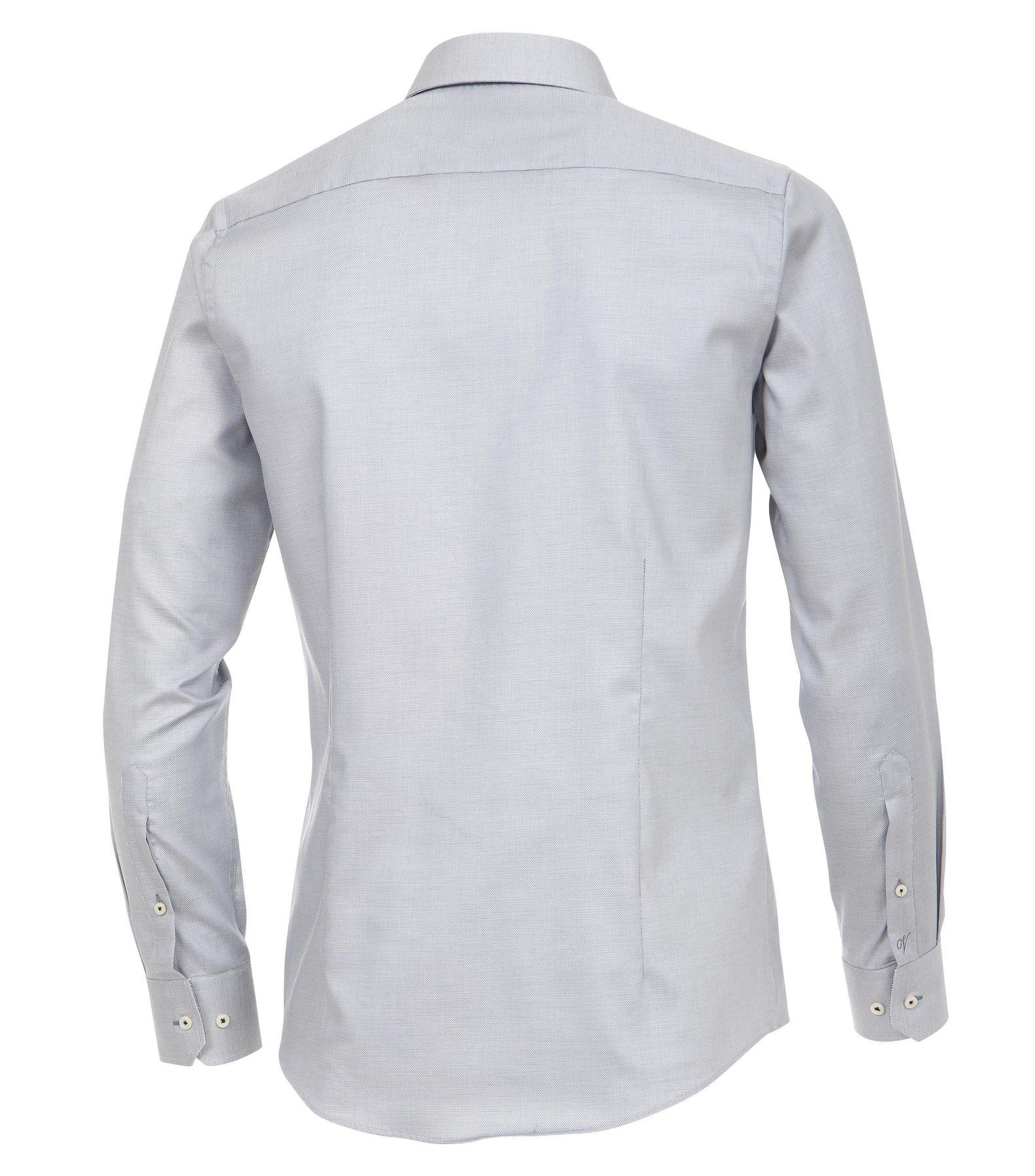 Venti - Slim Fit - Herren Langarm Hemd aus 100% Baumwolle mit Kent Kragen in verschiedenen Farben (172678600) – Bild 16