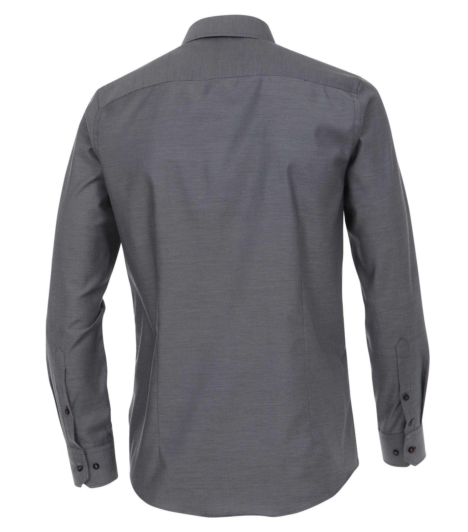 Venti - Slim Fit - Herren Langarm Hemd aus 100% Baumwolle mit Kent Kragen in verschiedenen Farben (172678600) – Bild 18