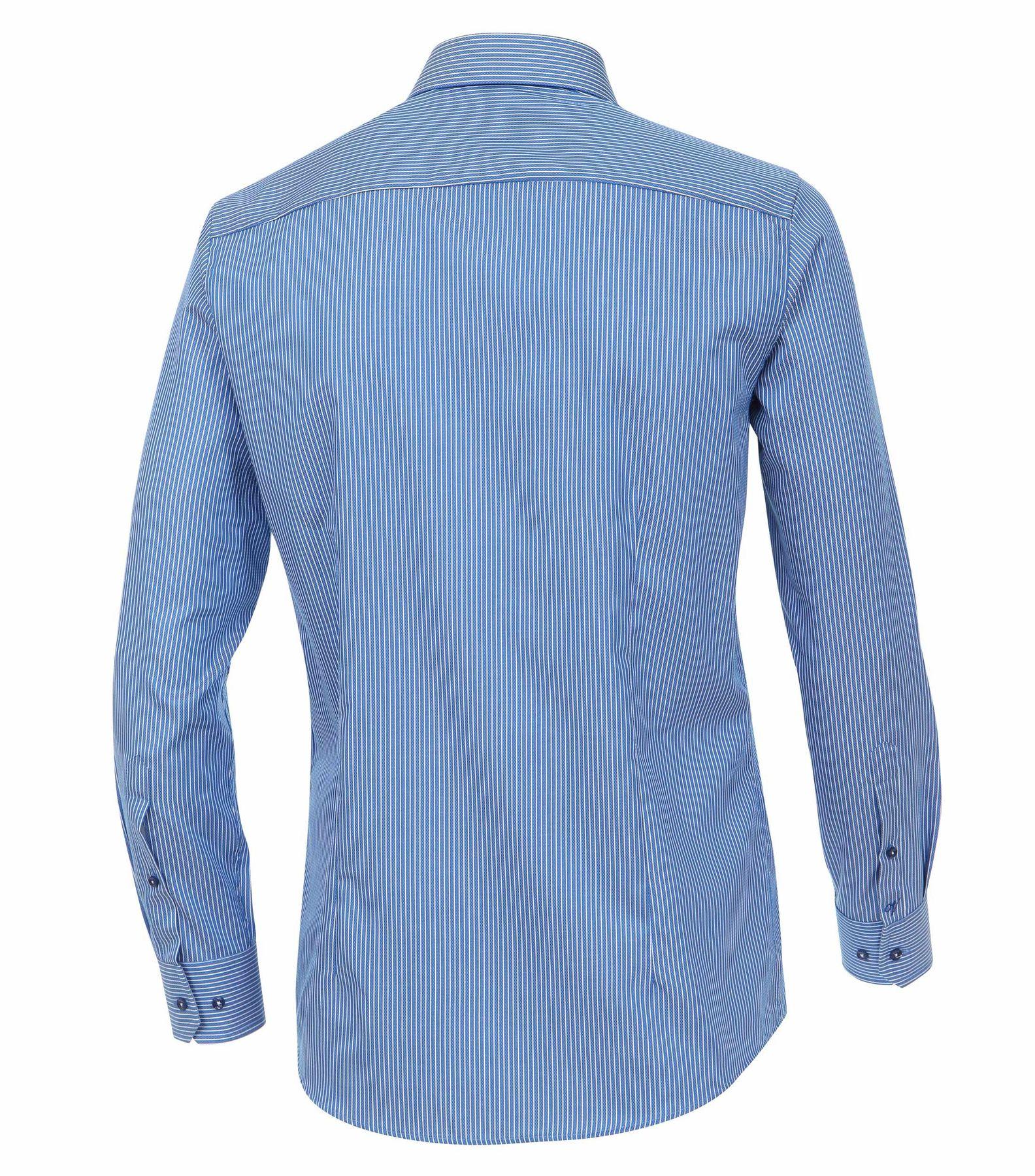 Venti - Slim Fit - Herren Langarm Hemd gestreift mit Kent Kragen (172678700) – Bild 6