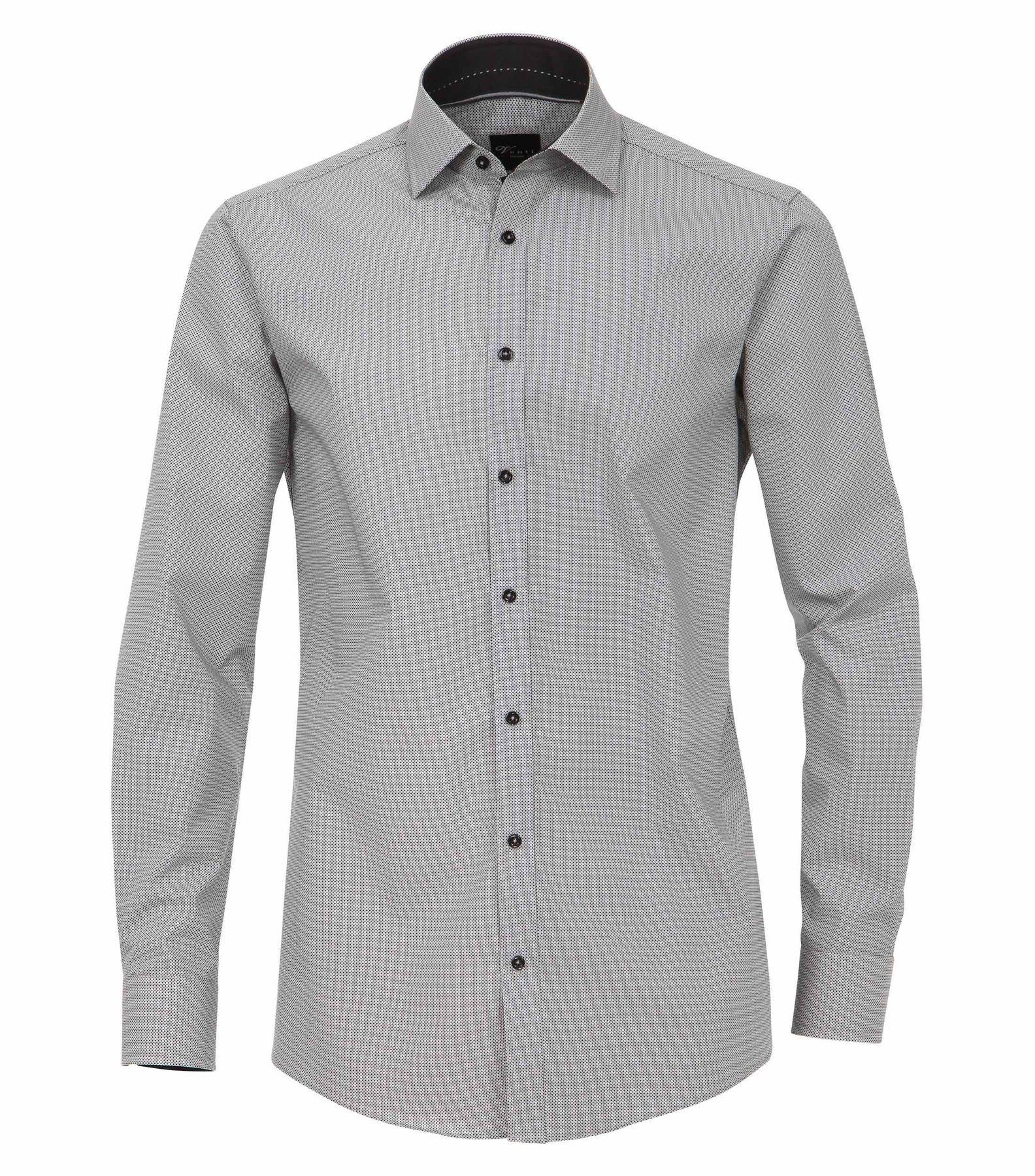 Venti - Slim Fit - Herren Struktur Hemd mit modischem Druck (172678800) – Bild 2