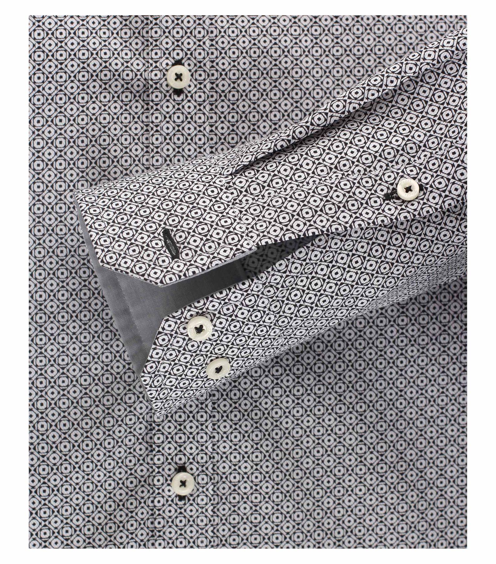 Venti - Body Fit - Herren Hemd mit modischem Druck und aus 100% Baumwolle mit Kent Kragen (172678100) – Bild 8
