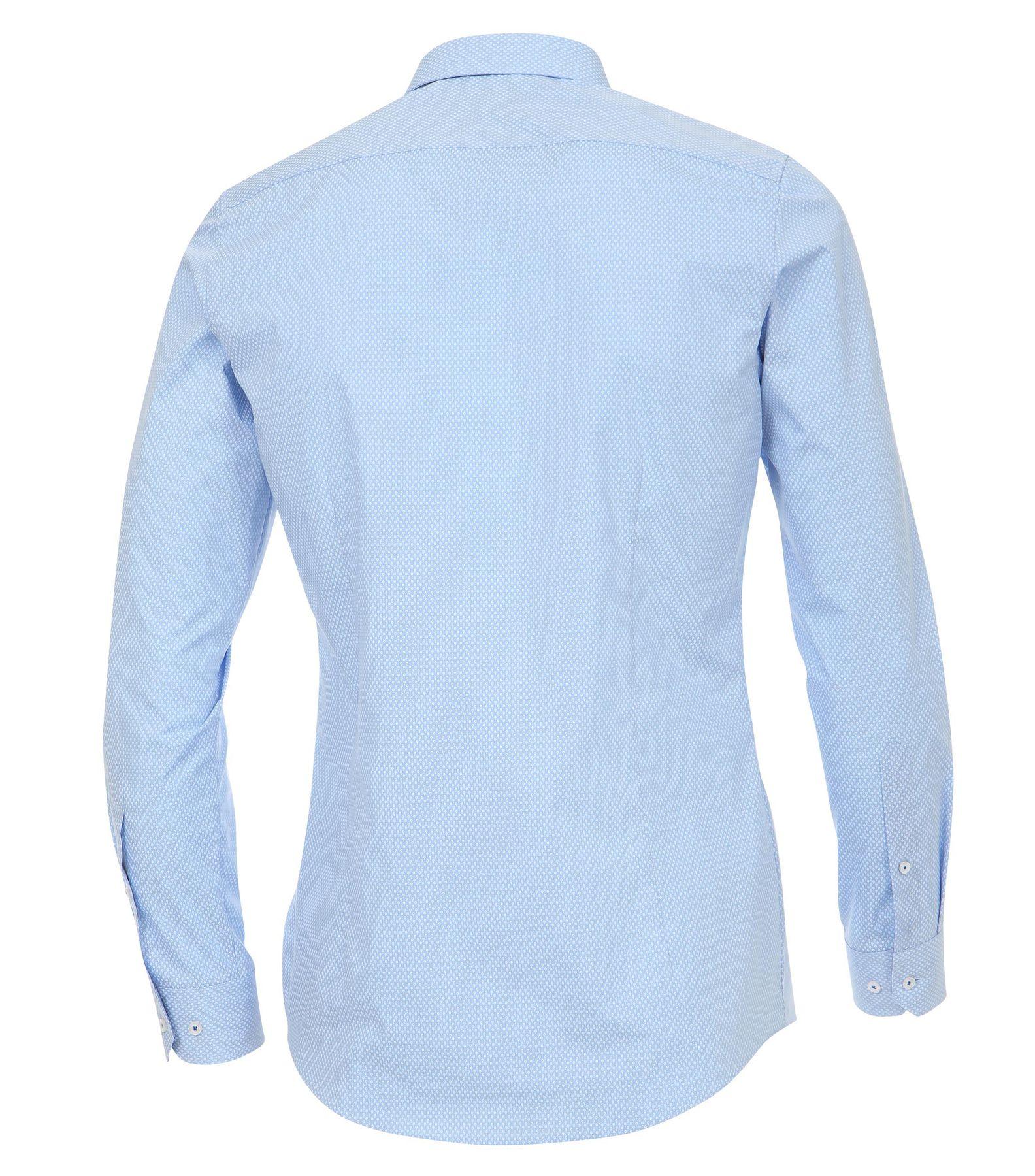 Venti - Body Fit - Herren Hemd mit modischem Druck und aus 100% Baumwolle mit Kent Kragen (172678200) – Bild 2