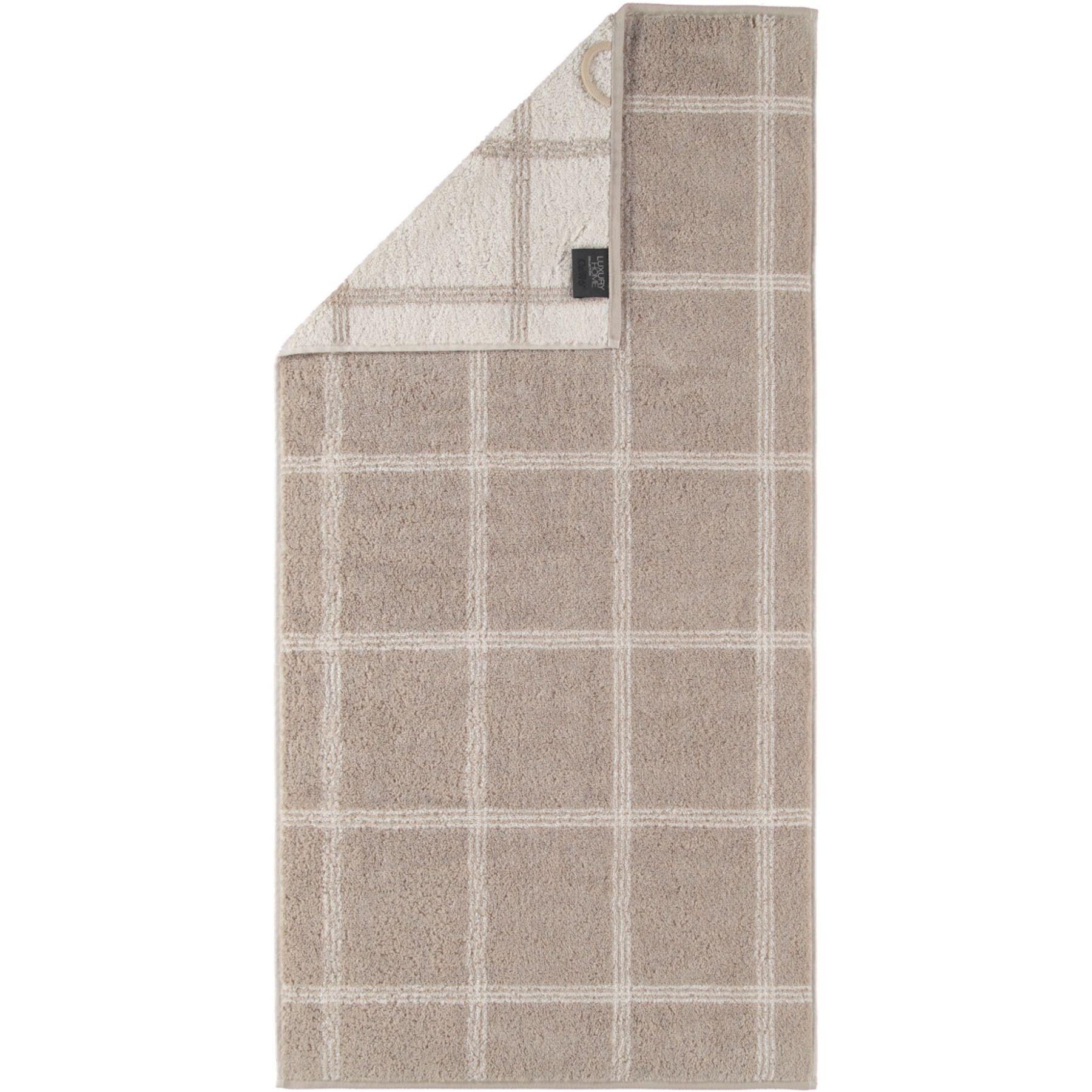 Cawö - Frottier Handtuch in verschiedenen Größen und Farben, Two Tone Grafik (604)  – Bild 1