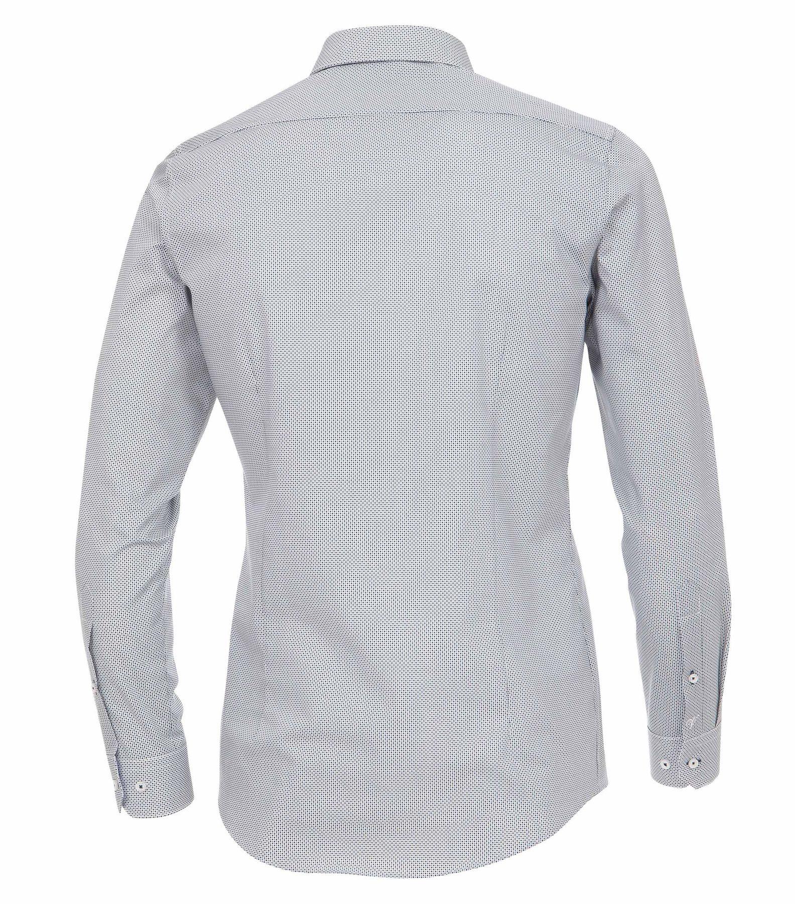 Venti - Body Fit - Herren Hemd mit modischem Druck und aus 100% Baumwolle mit Kent Kragen (172677900) – Bild 2