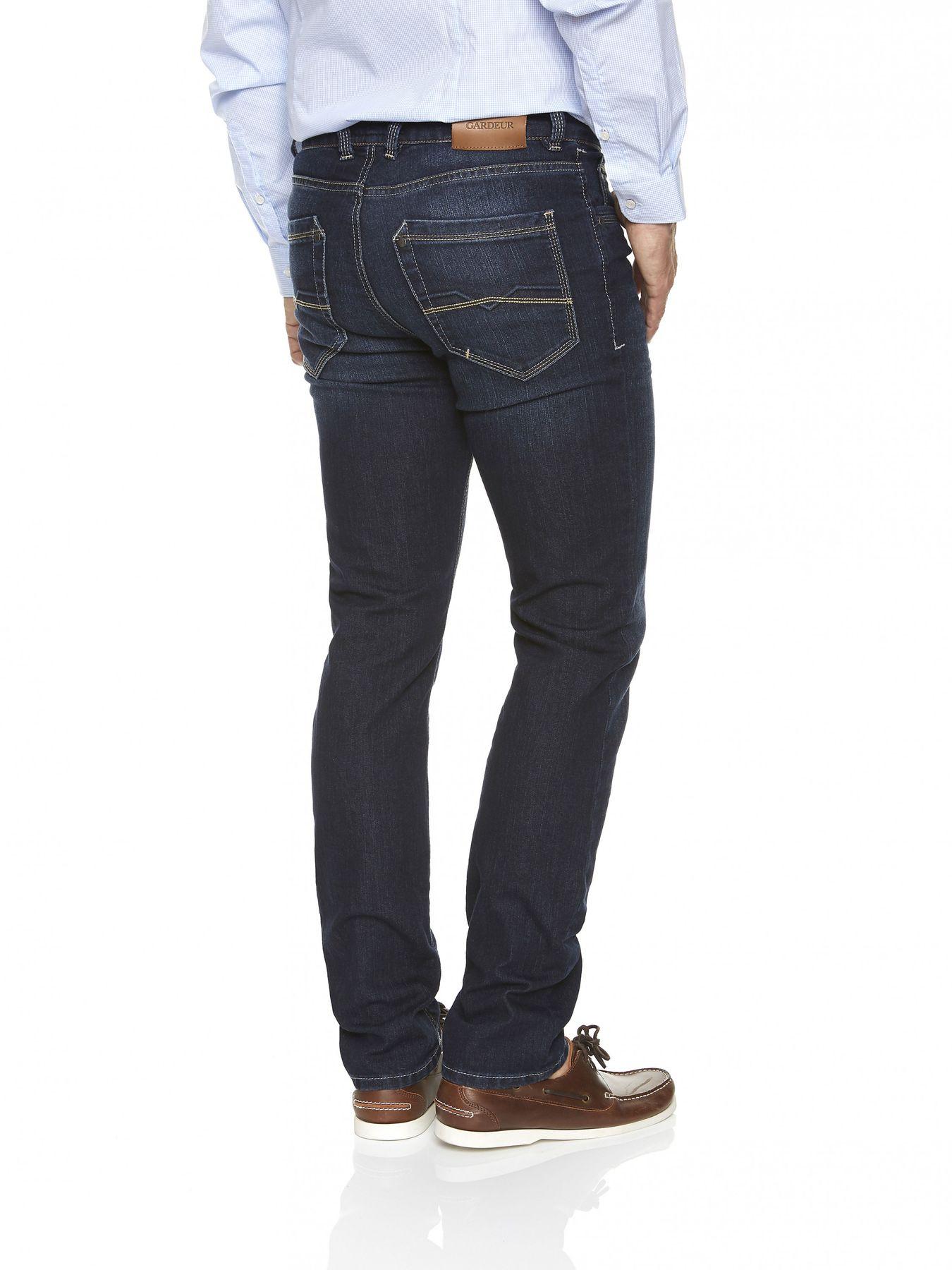 Atelier Gardeur - Herren 5-Pocket Jeans Superflex, Farben black(99), dark stone(68), stone blue(67), anthrazit(198) BATU (71001) – Bild 8