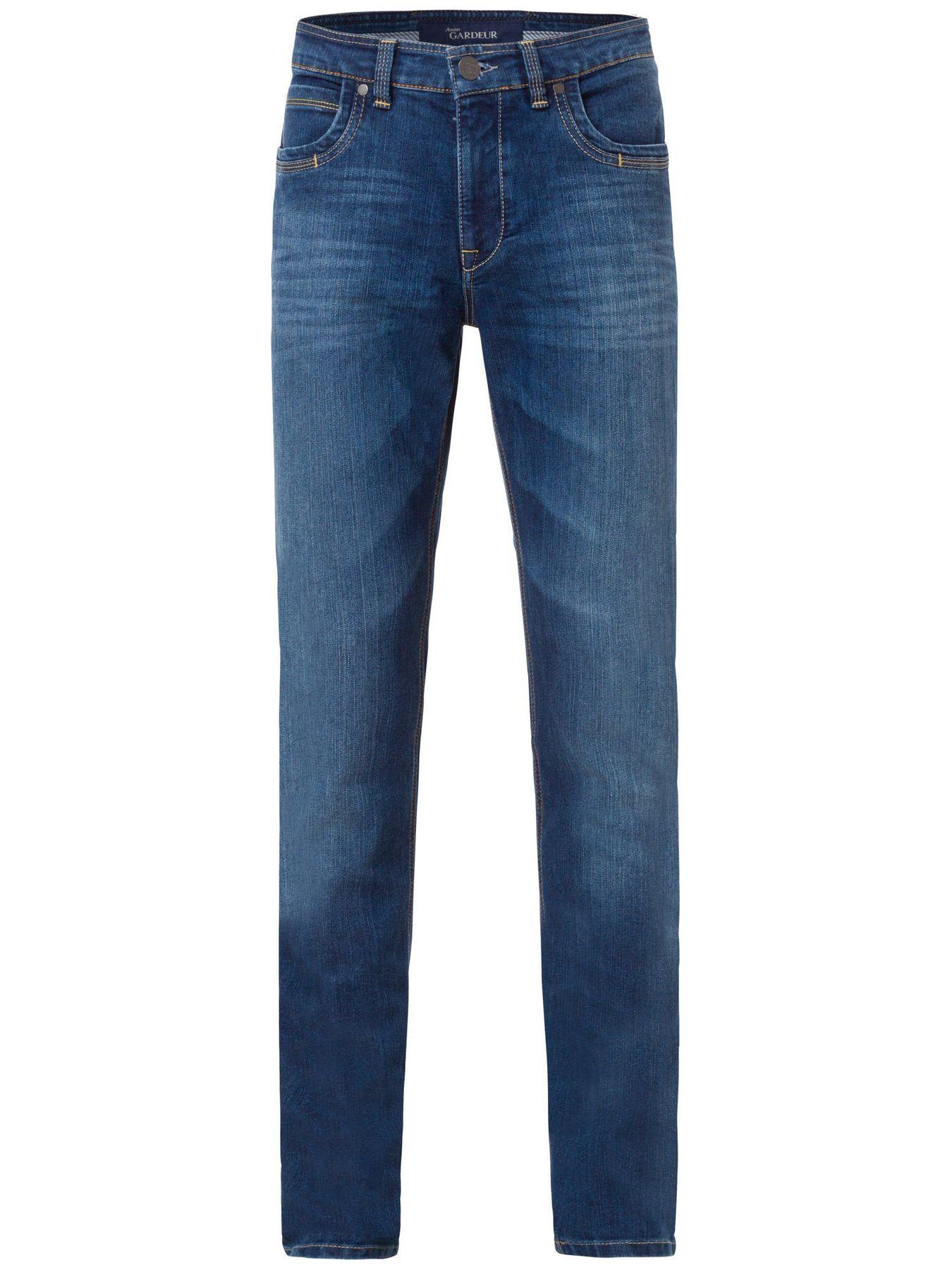 Atelier Gardeur - Herren 5-Pocket Jeans Superflex, Farben black(99), dark stone(68), stone blue(67), anthrazit(198) BATU (71001) – Bild 1