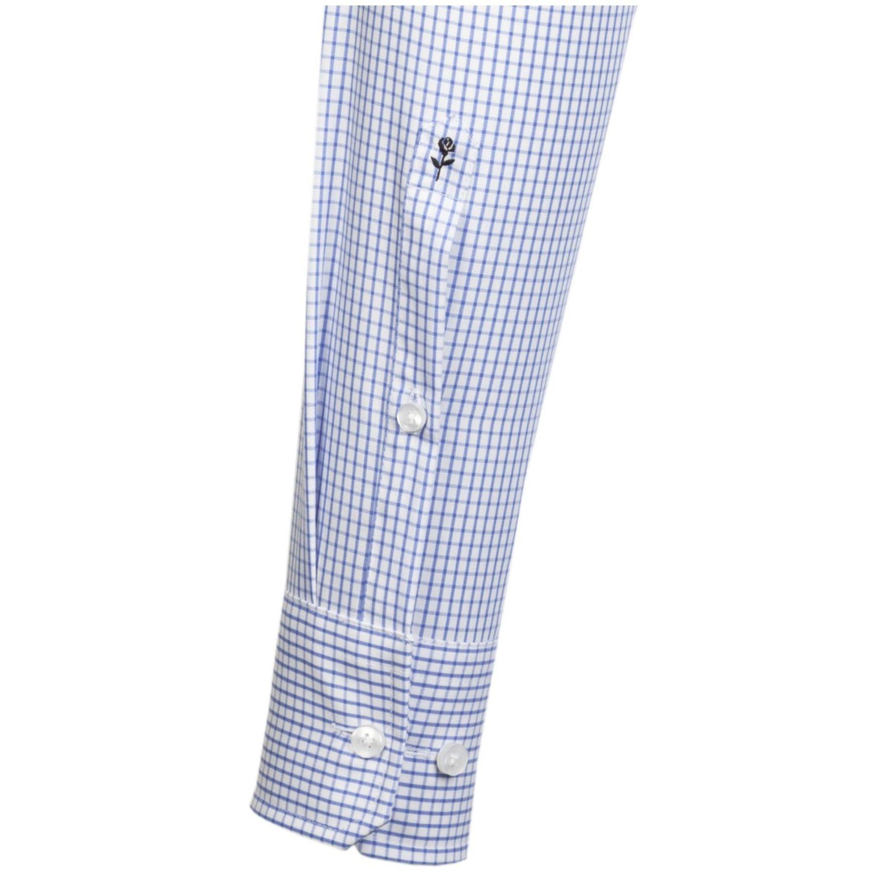 Seidensticker - Herren Hemd, Bügelfrei, Modern, Schwarze Rose mit Kent Kragen in Karo und Streifen (01.003105) – Bild 8