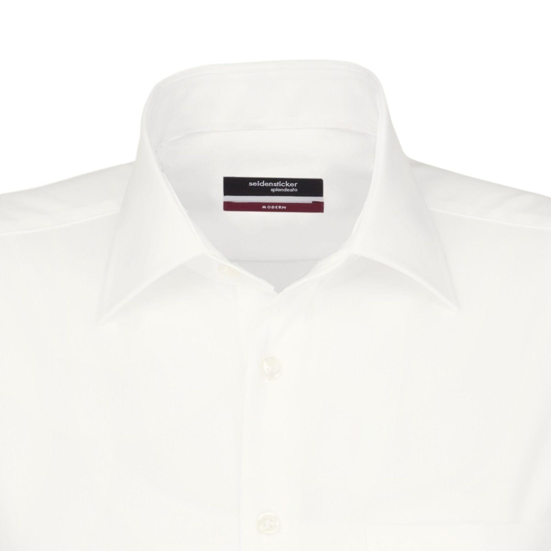 Seidensticker - Herren Hemd, Bügelfrei, Modern, Schwarze Rose mit Kent Kragen in Blau, Weiß und Ecru (01.001007) – Bild 9