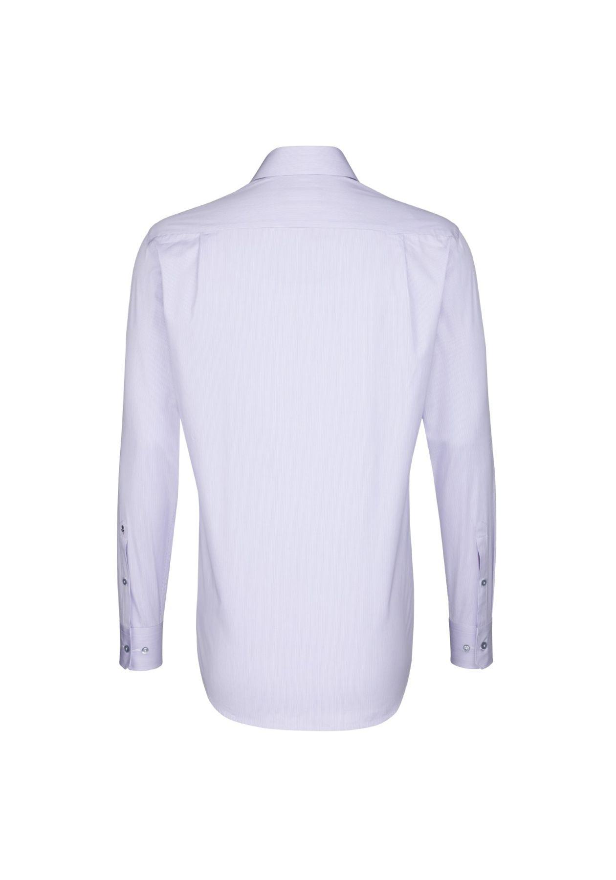 Seidensticker - Herren Hemd, Bügelfrei, Modern, Schwarze Rose, gestreift mit Kent Kragen (01.112296) – Bild 6