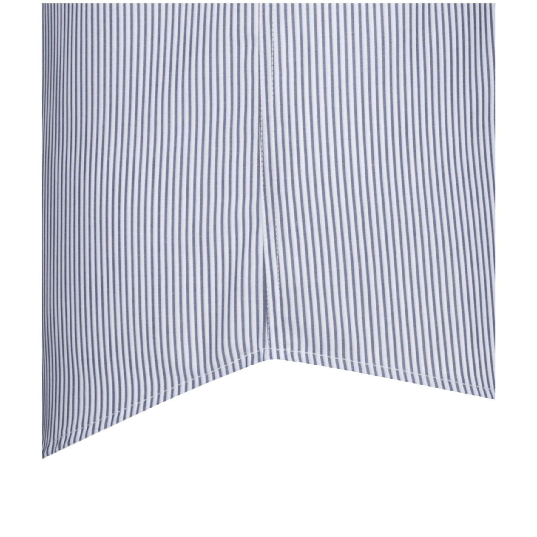 Seidensticker - Herren Hemd 1/2 Arm, Bügelfrei, Modern, Schwarze Rose gestreift mit Kent Kragen in Blau (01.112079) – Bild 3