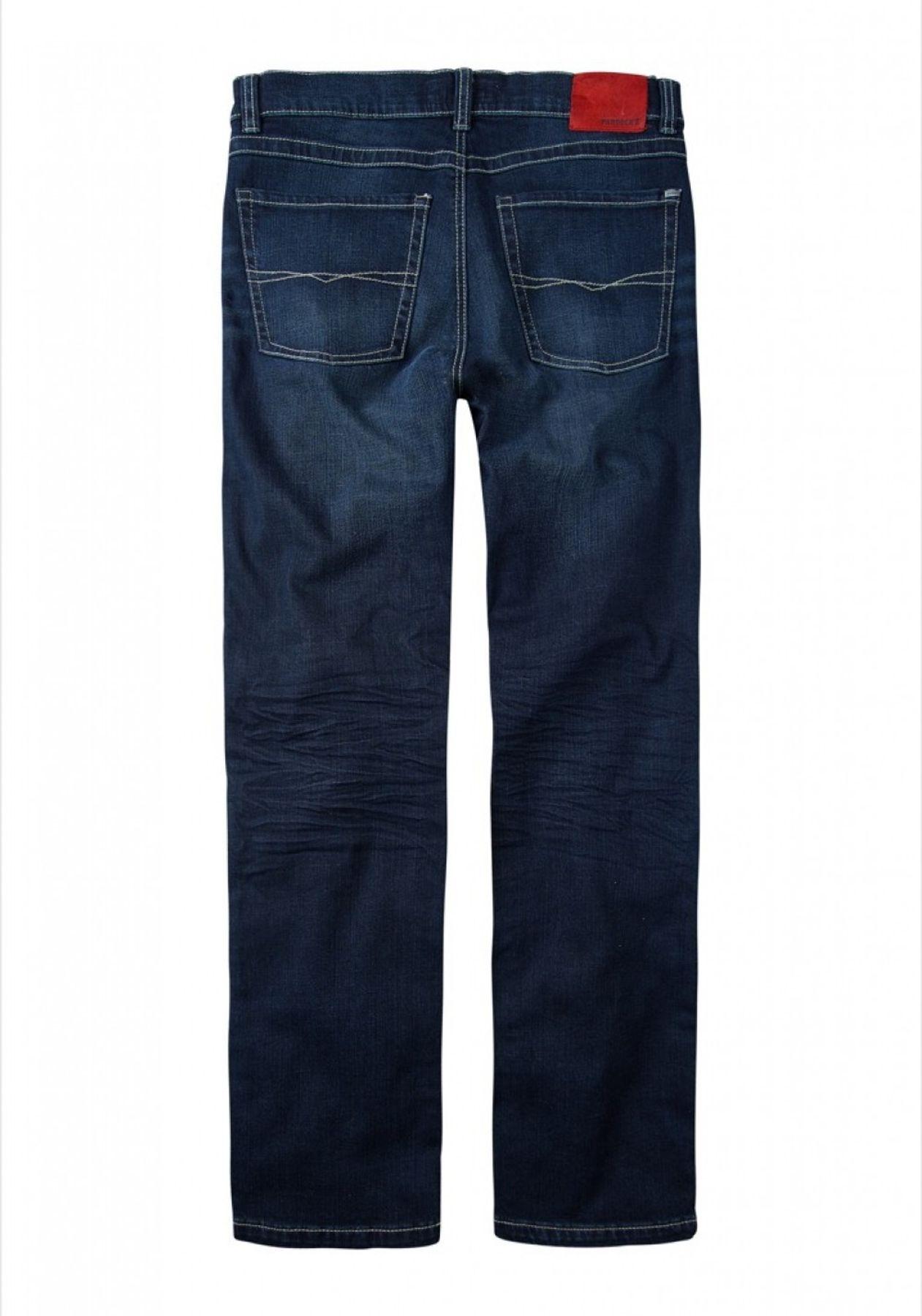 Paddock's Herren 5-Pocket Jeans in Farben blue/black used moustache (5785) und blue dark stone used moustache (5475), Carter 80 016 5024 – Bild 4