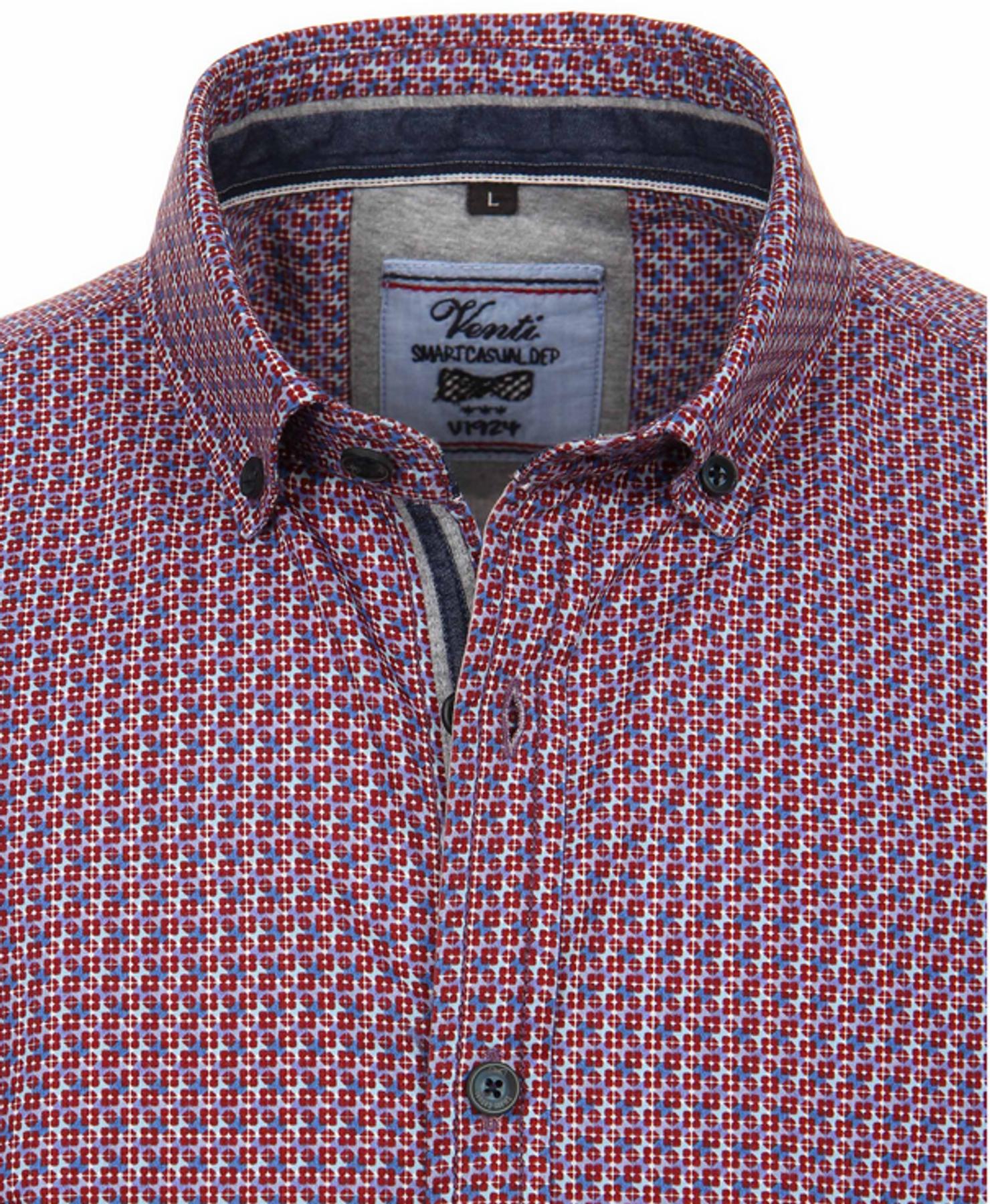 Venti - Modisches Herren Hemd, Karo Twill aus 100% Baumwolle (162623400 A) – Bild 3