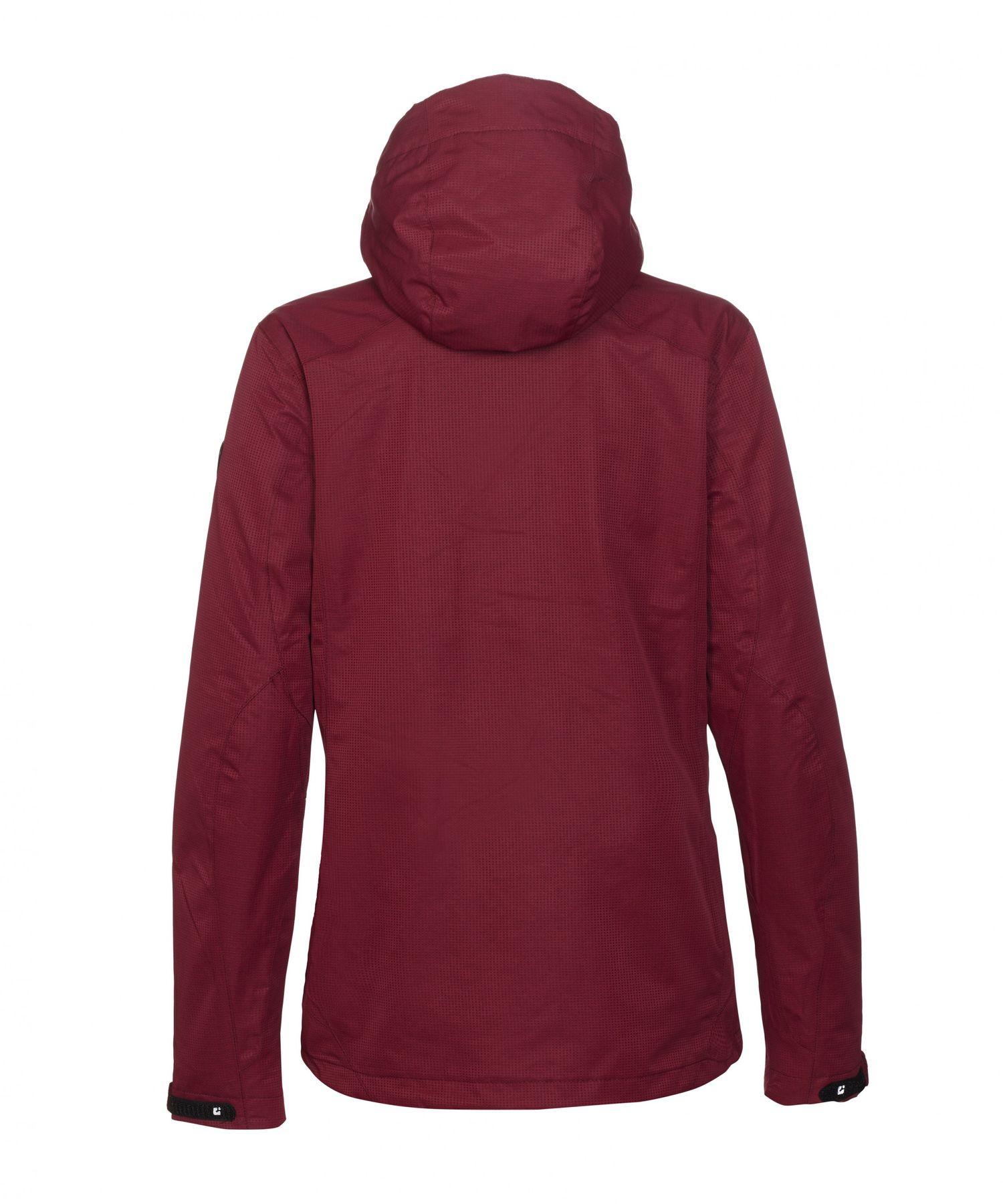 killtec - Damen Funktionsjacke mit abzipbarer Kapuze, wasserdicht, atmungsakiv, verschiedene Farben, Inkele KG (24815) – Bild 12