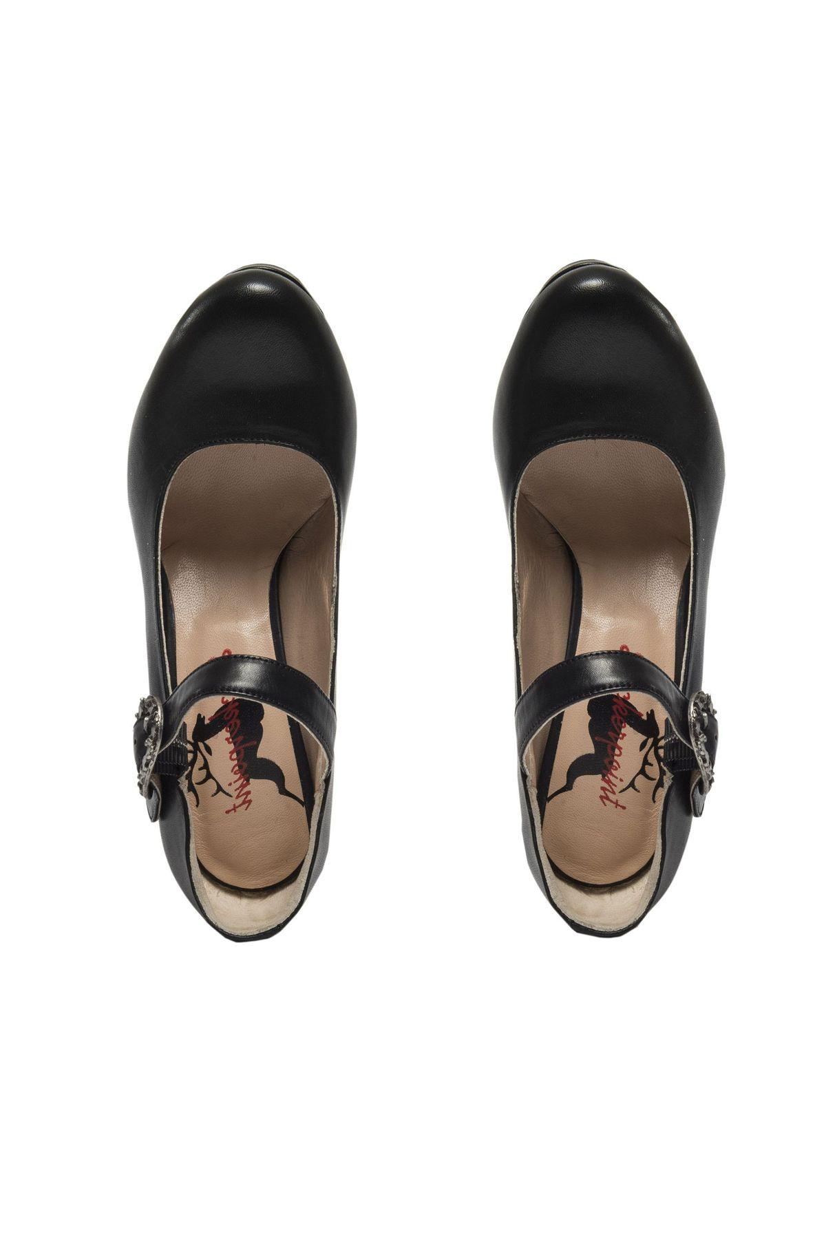 STOCKERPOINT - Damen Dirndl Schuhe in Schwarz, 6010 – Bild 3