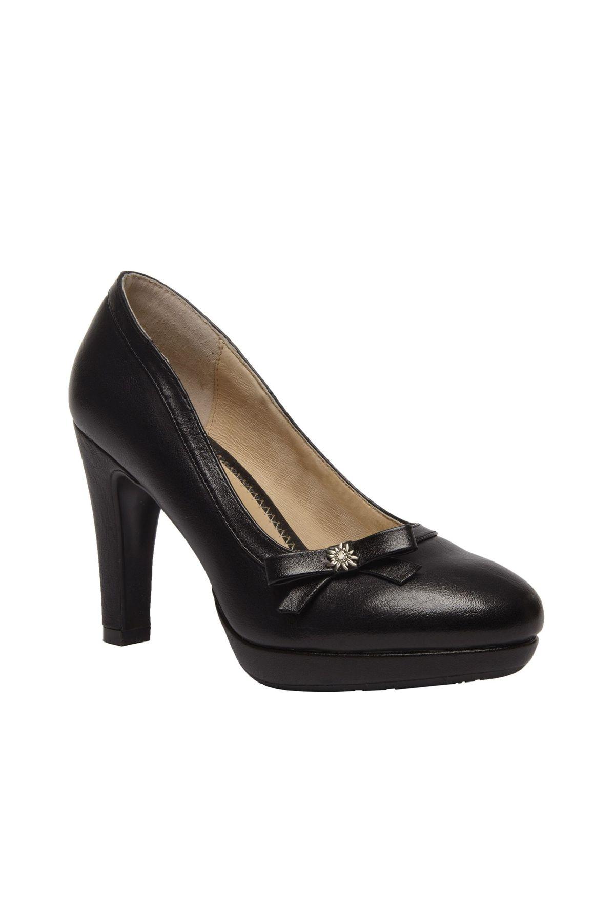 STOCKERPOINT - Damen Trachten Schuhe in Schwarz, 6070 – Bild 3