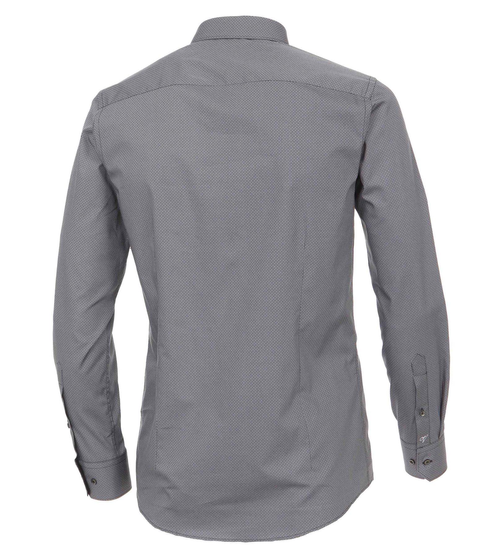 Venti - Slim Fit - Herren Hemd mit modischem Aufdruck aus 100% Baumwolle mit Kent Kragen (1162568100) – Bild 10