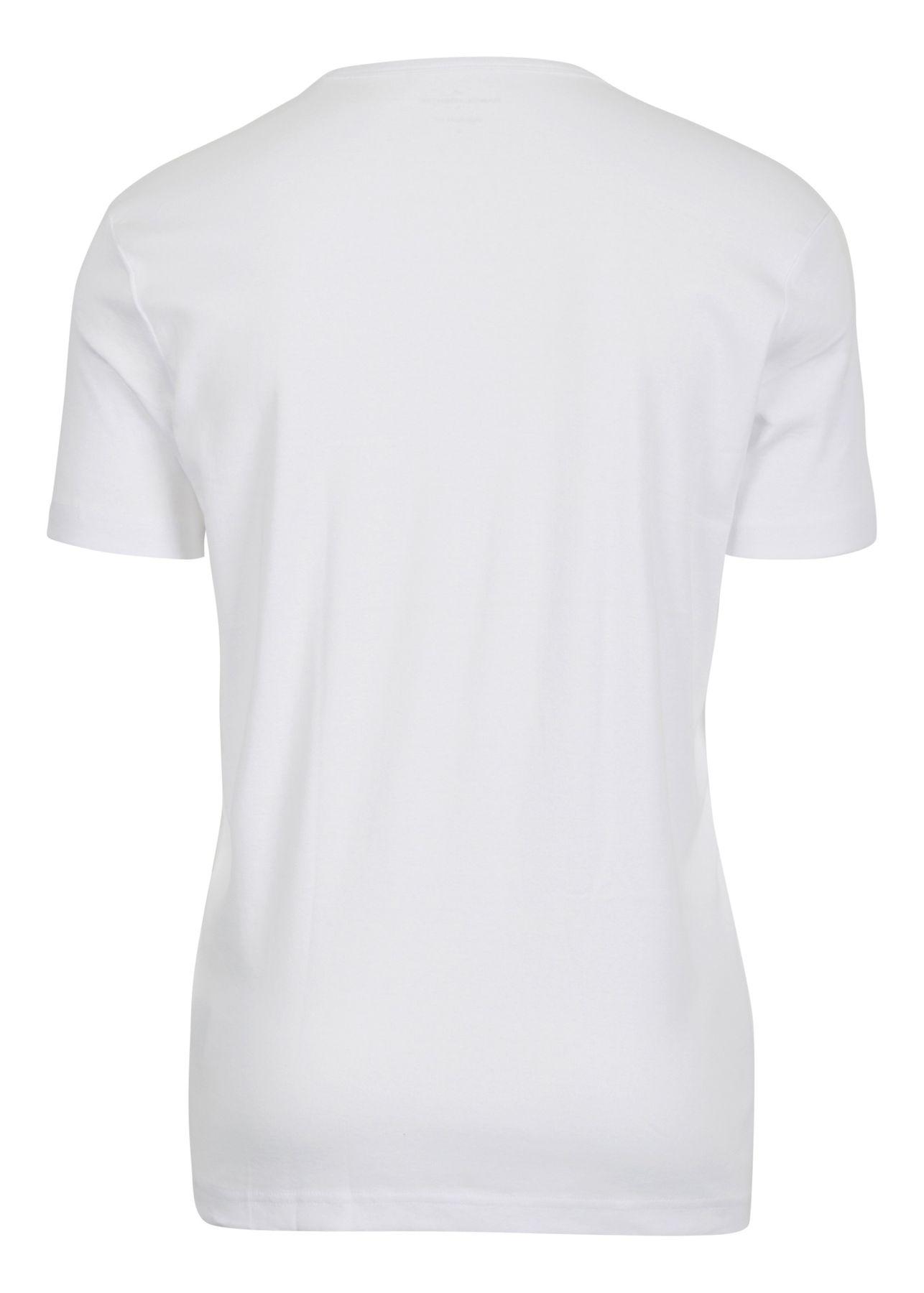 Daniel Hechter - Modern Fit -  Doppelpack Herren Kurzarm T-Shirt in weiß, S-3XL (474 10288) – Bild 3