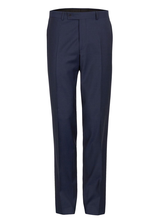 Daniel Hechter - Regular Fit - Herren Baukasten Anzughose aus 100% feinster ital. Schurwolle in schwarz und blau (H 40350-100101)