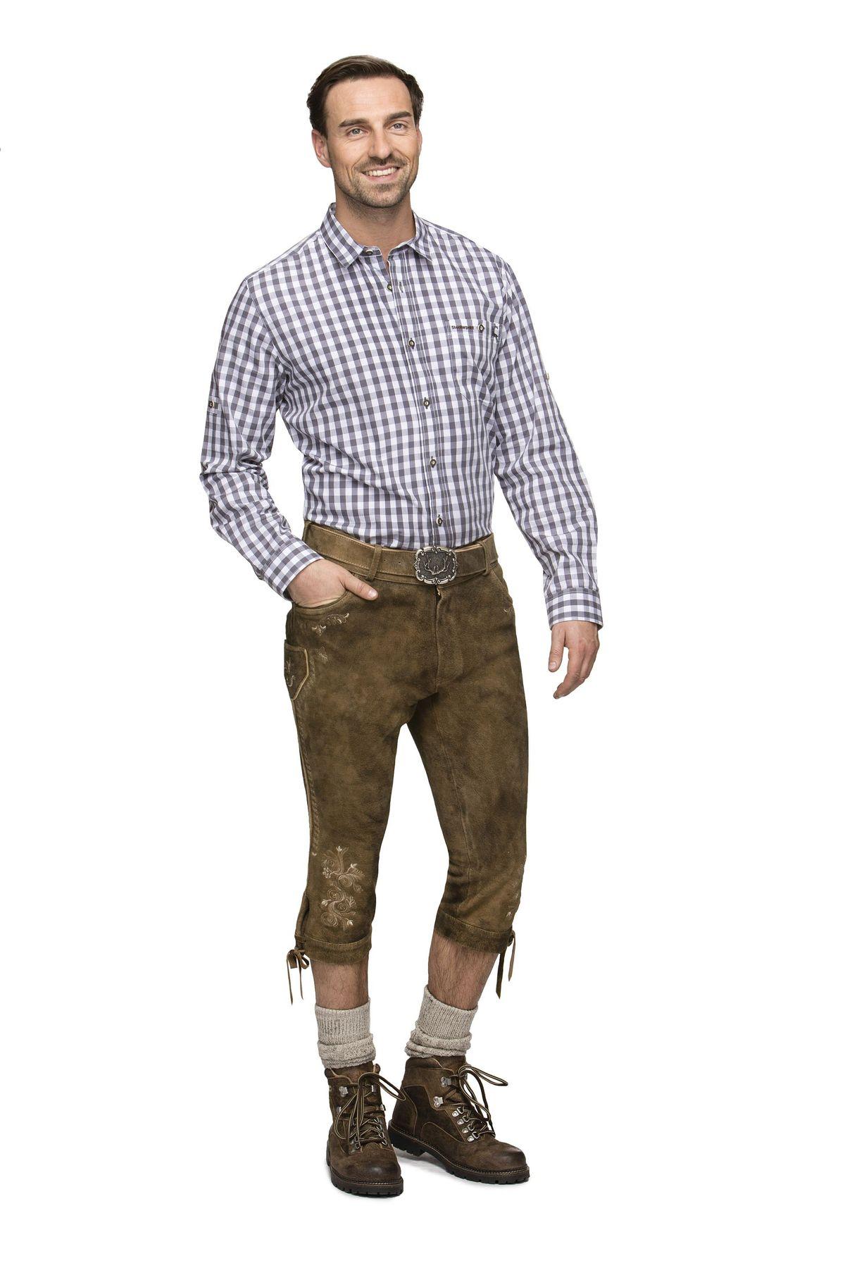 Herren Trachten Lederhose von der Marke STOCKERPOINT in verschiedenen Farben, Sigmar3 – Bild 2