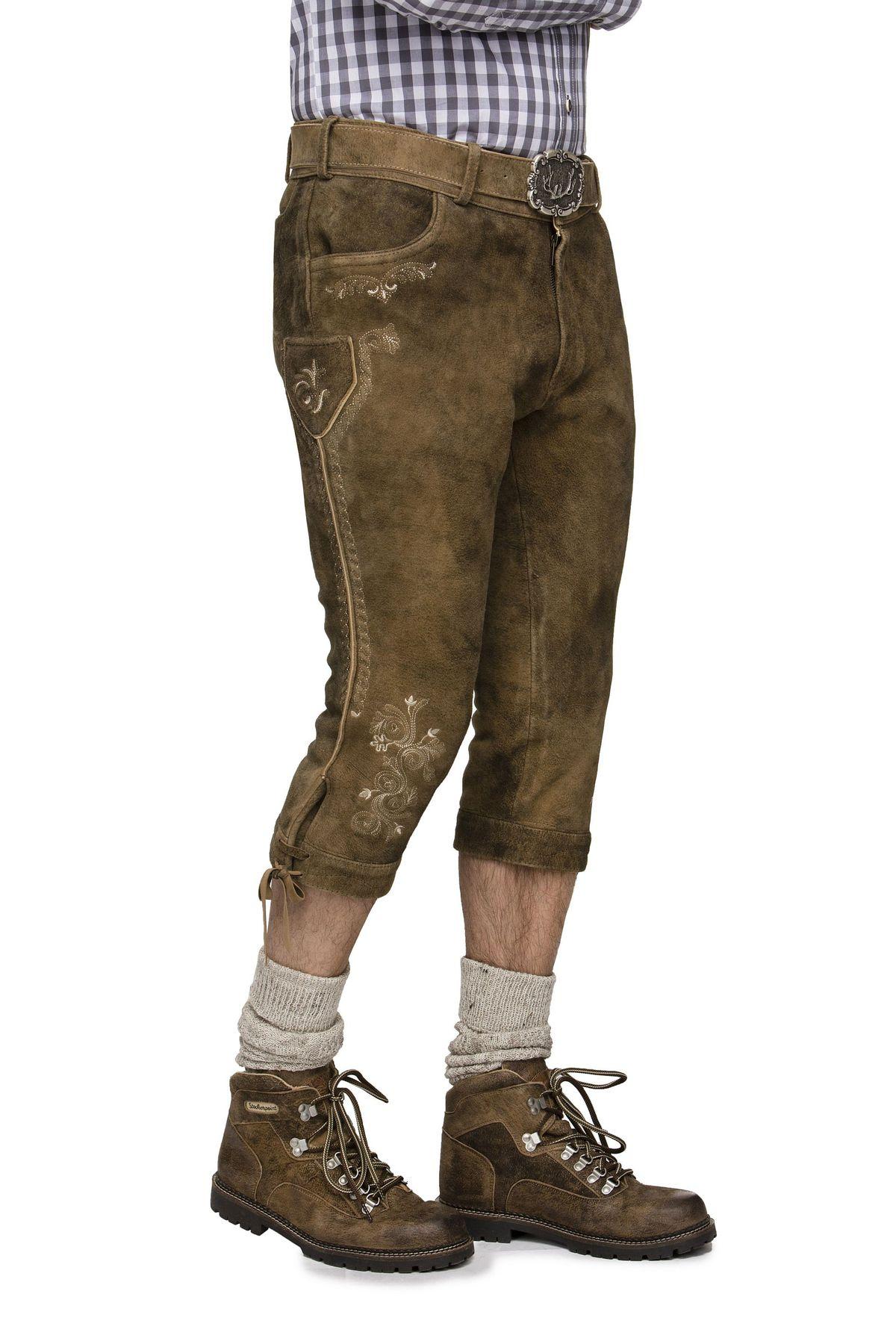 Herren Trachten Lederhose von der Marke STOCKERPOINT in verschiedenen Farben, Sigmar3 – Bild 5