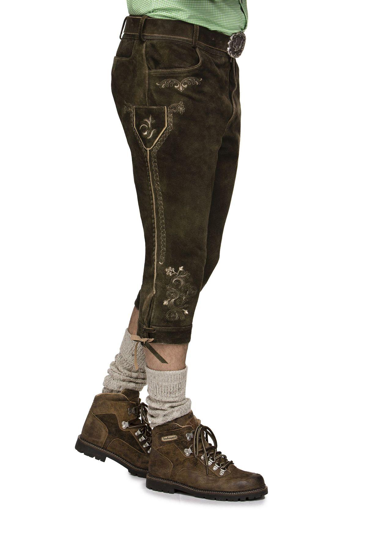 Herren Trachten Lederhose von der Marke STOCKERPOINT in verschiedenen Farben, Sigmar3 – Bild 8