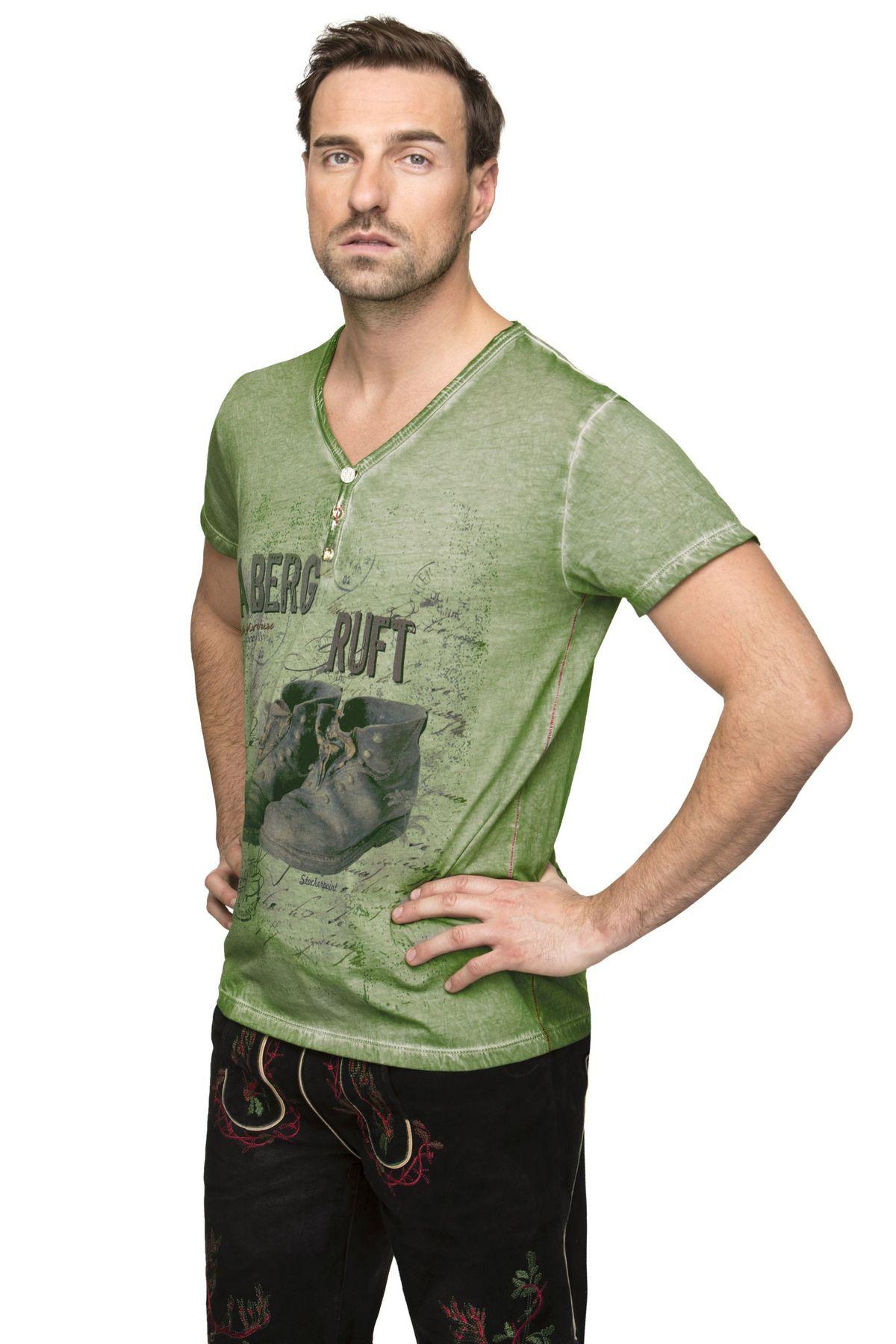 Stockerpoint - Herren Trachten T-Shirt, Billy2 – Bild 2